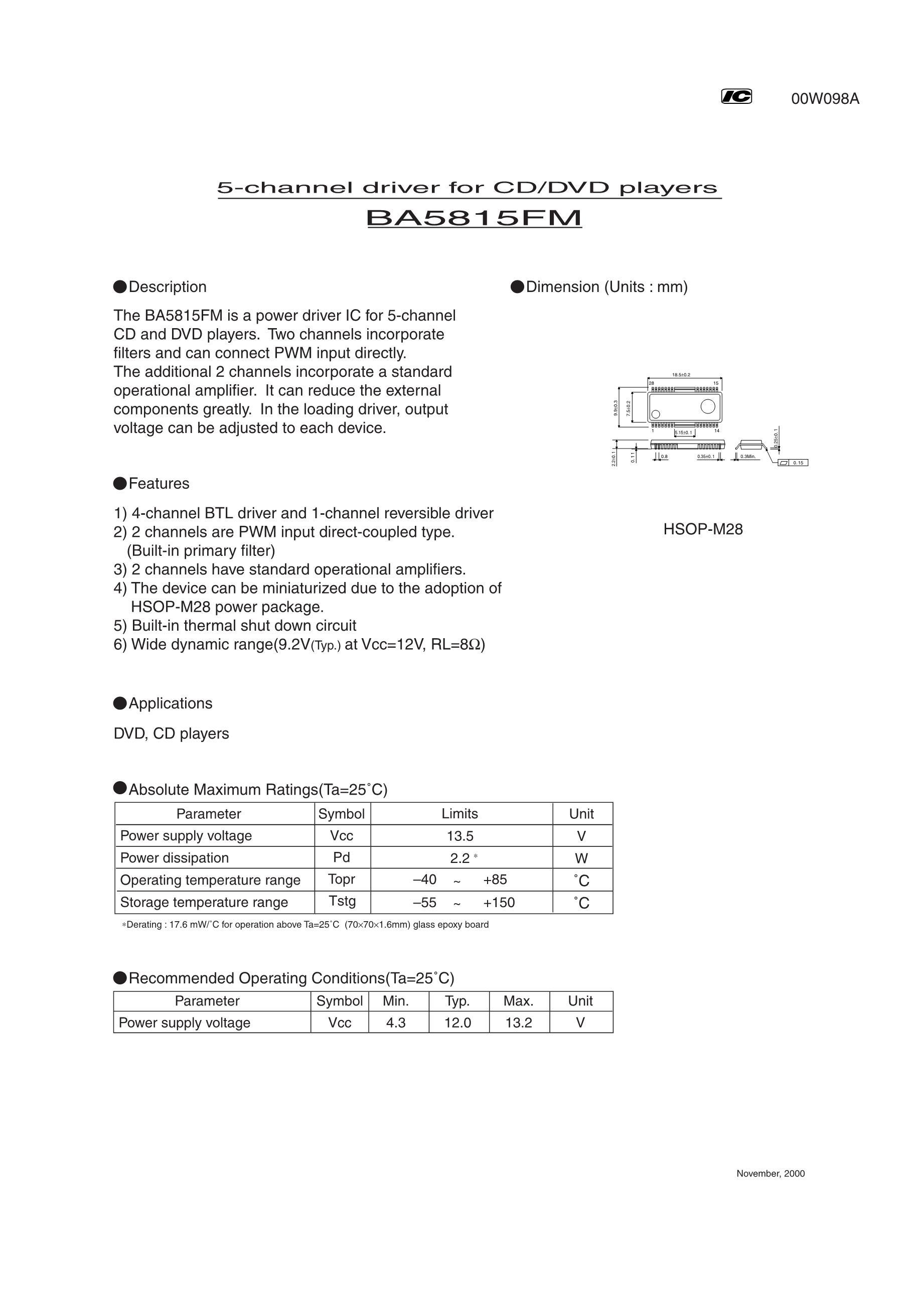 BA5830FM-E2's pdf picture 1