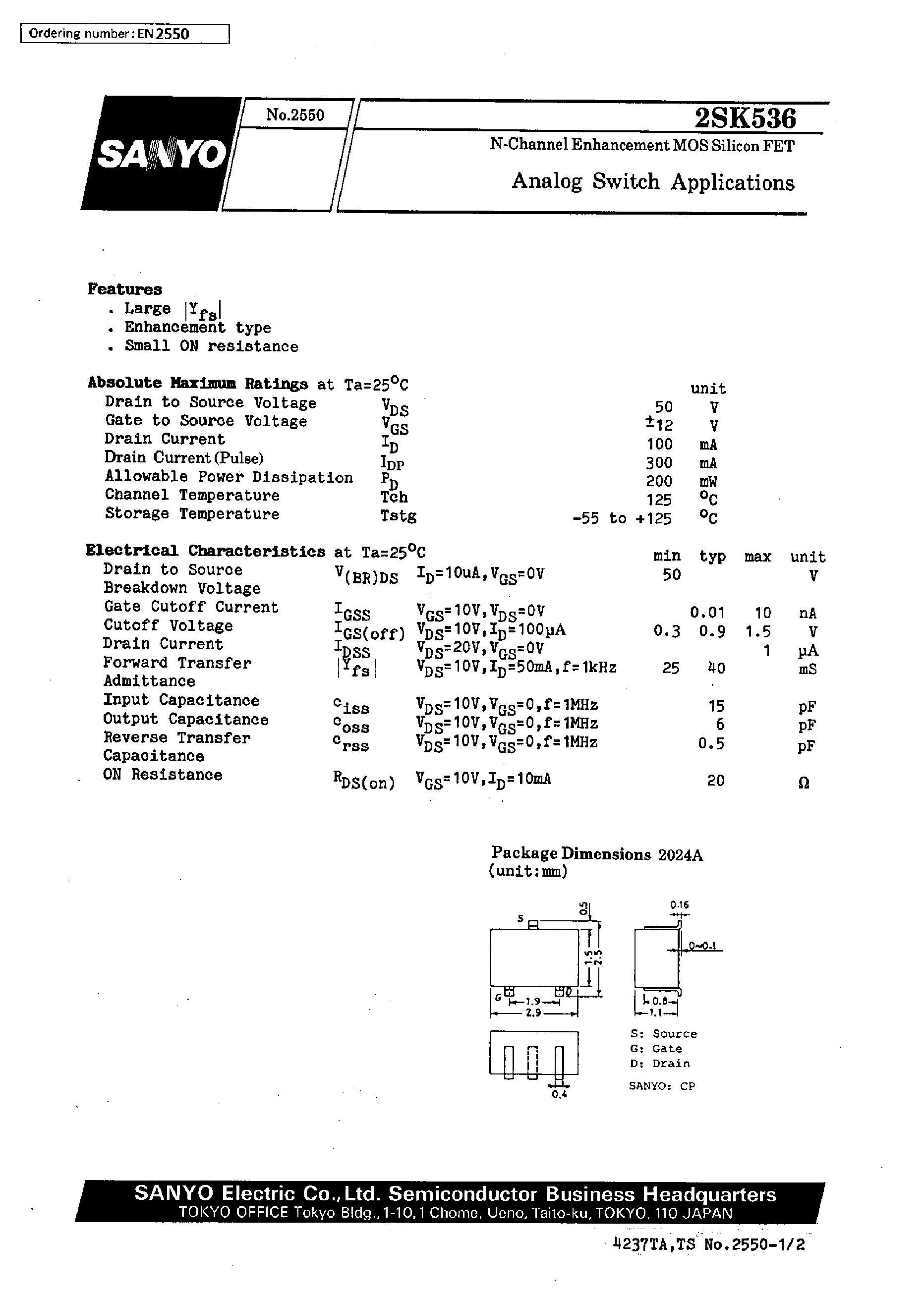 2SK536/BJ's pdf picture 1