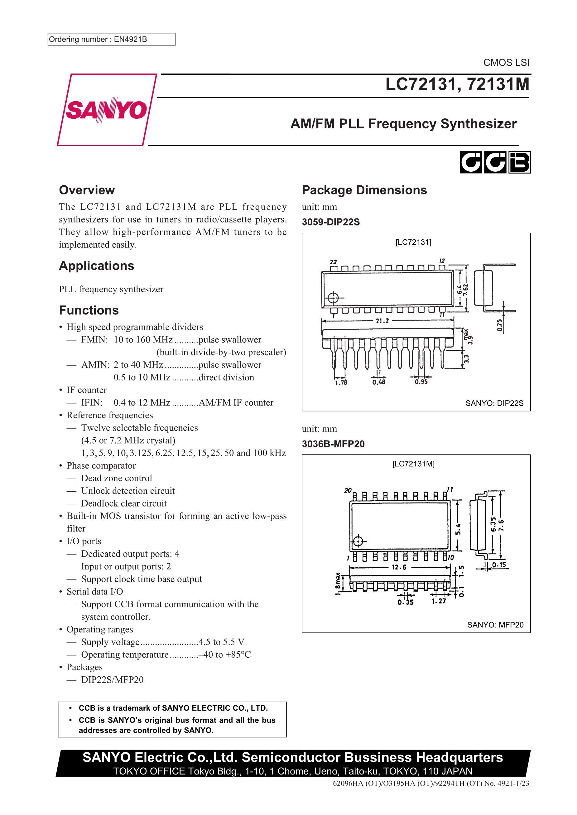 LC72358's pdf picture 1