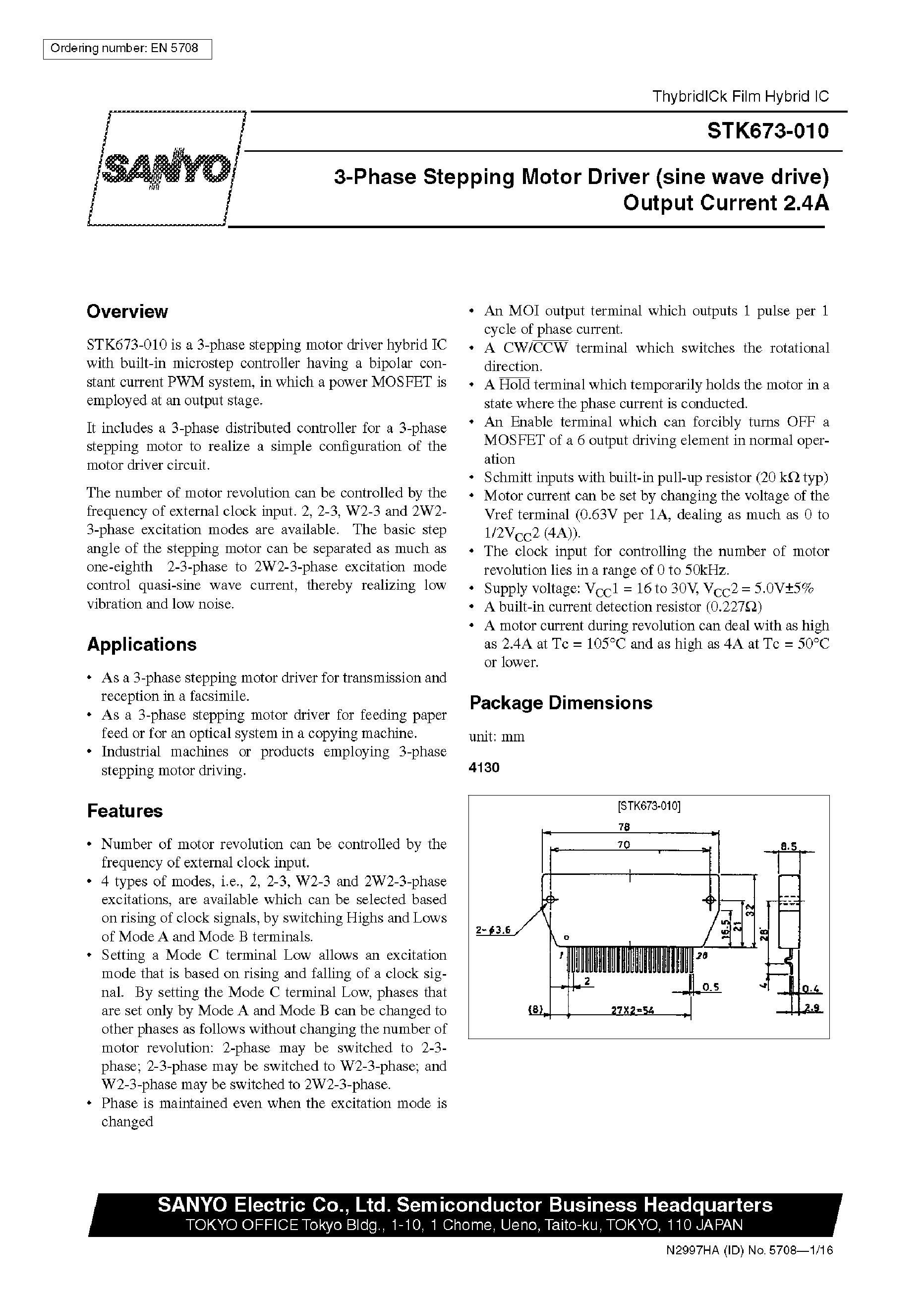 STK621-041A-E's pdf picture 1