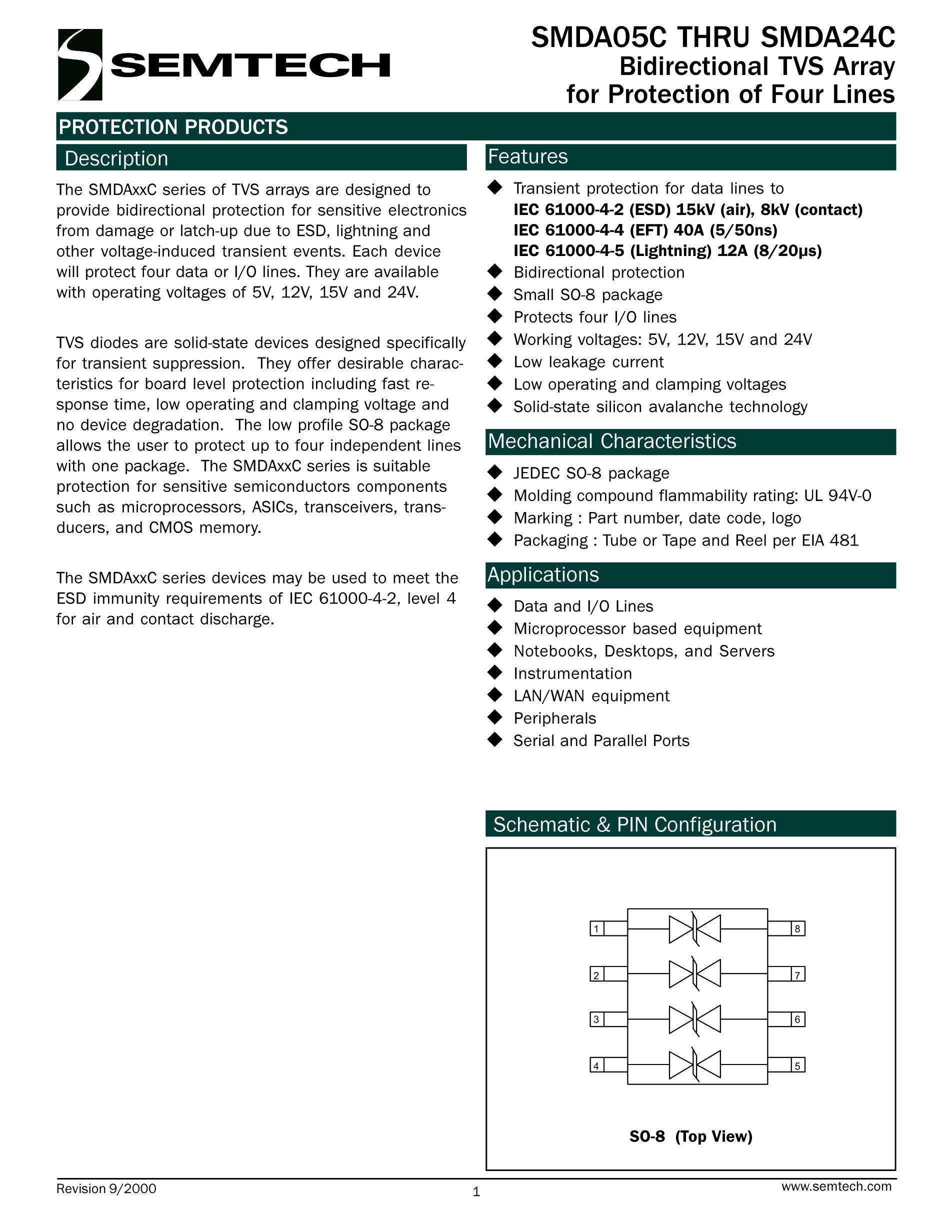 SMDA24C-4's pdf picture 1
