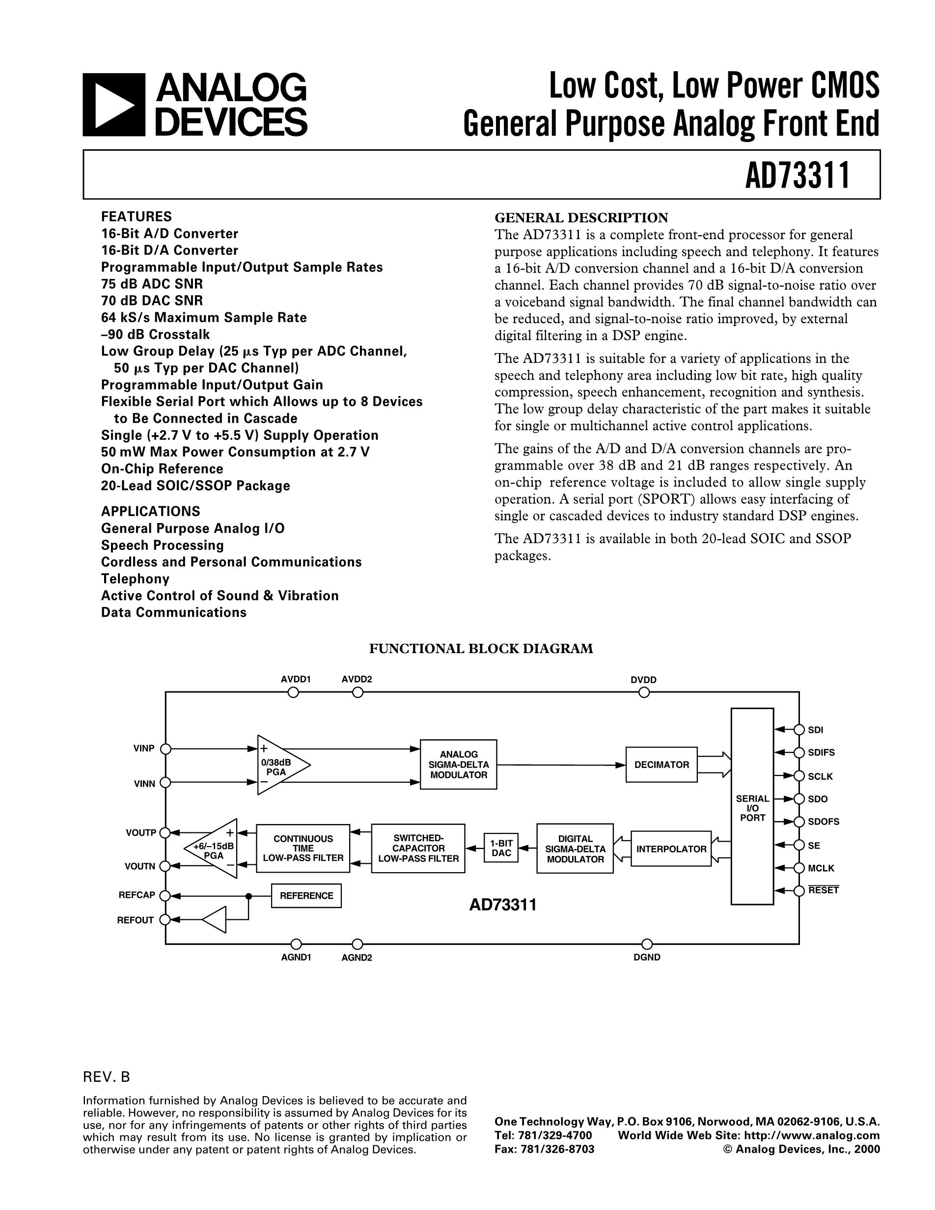 AD737JR-5-REEL7's pdf picture 1
