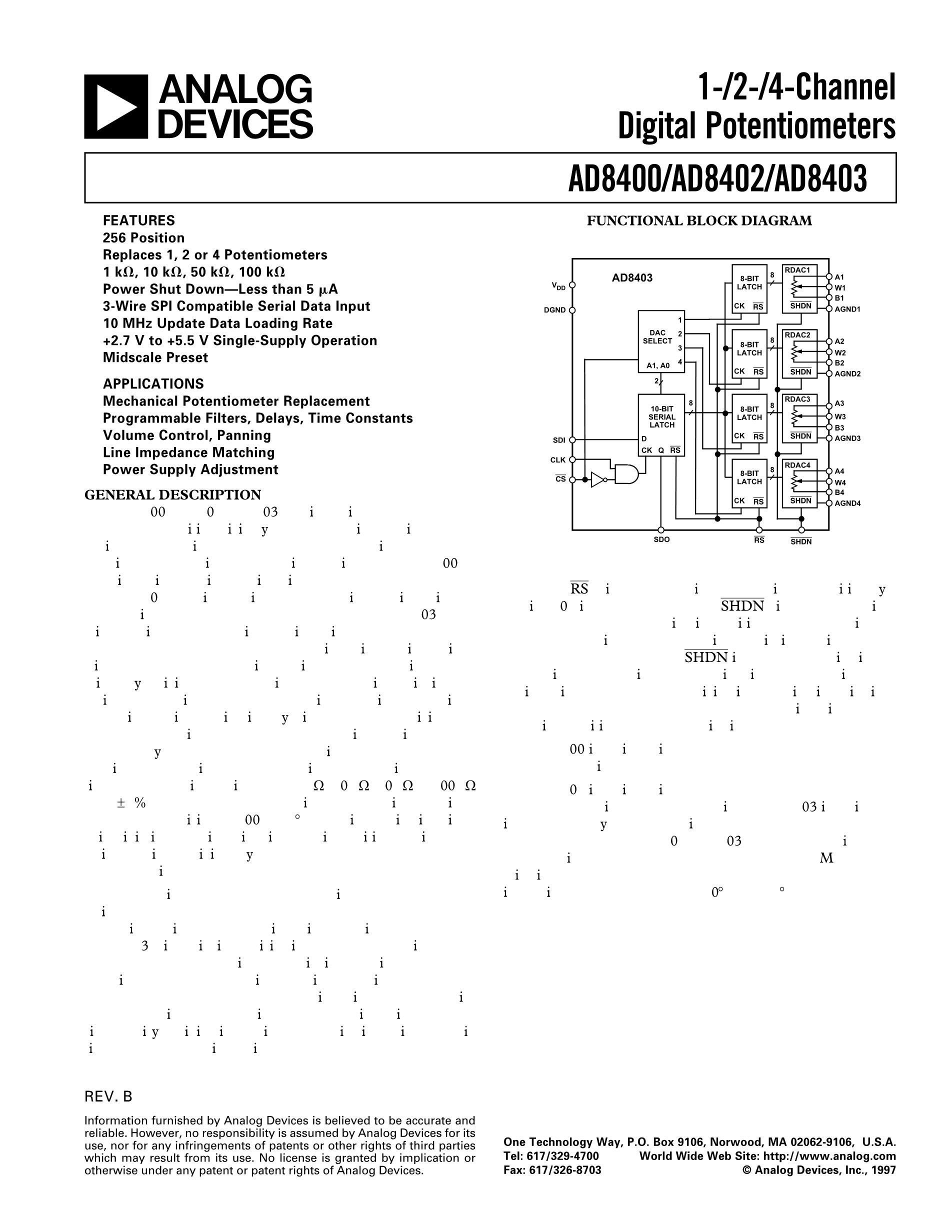 AD8436ACPZ-R7's pdf picture 1