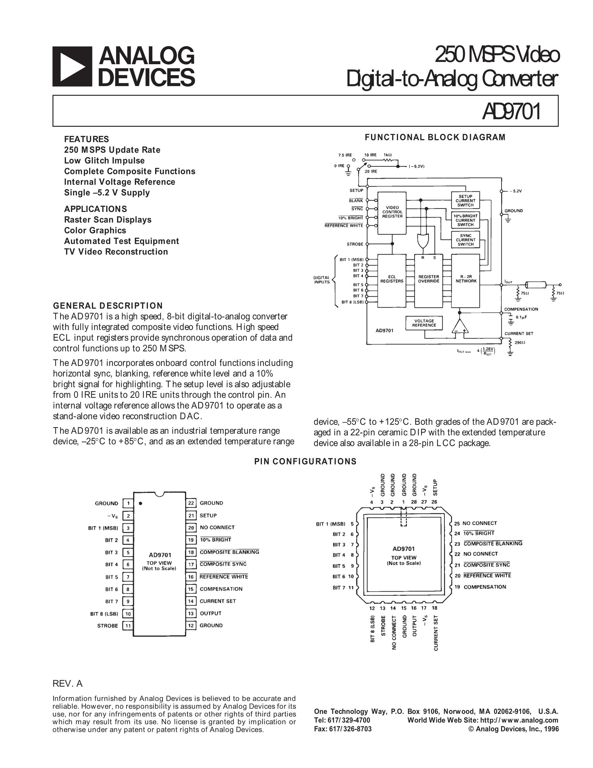 AD9765ASTZRL's pdf picture 1