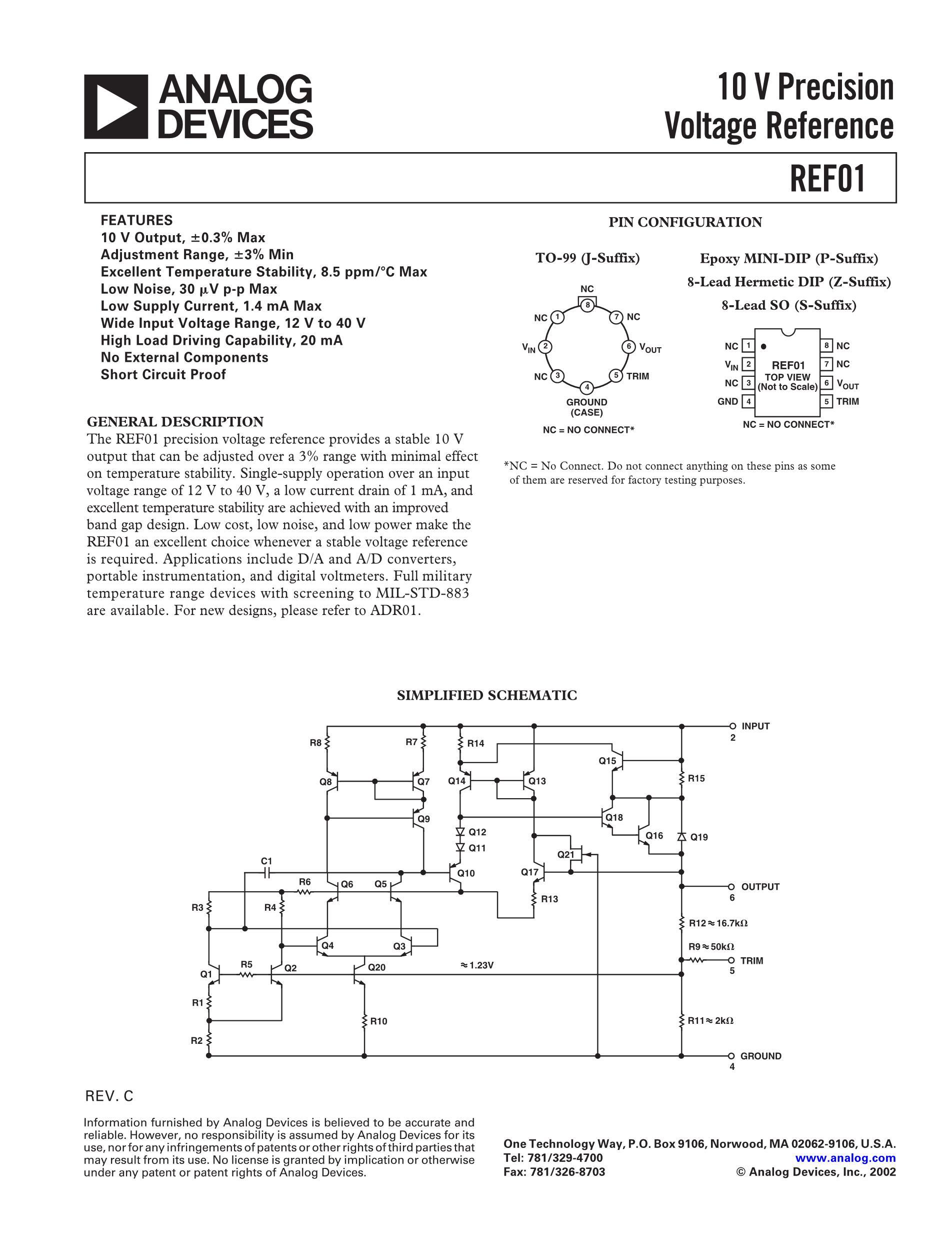REF02CSA-W's pdf picture 1