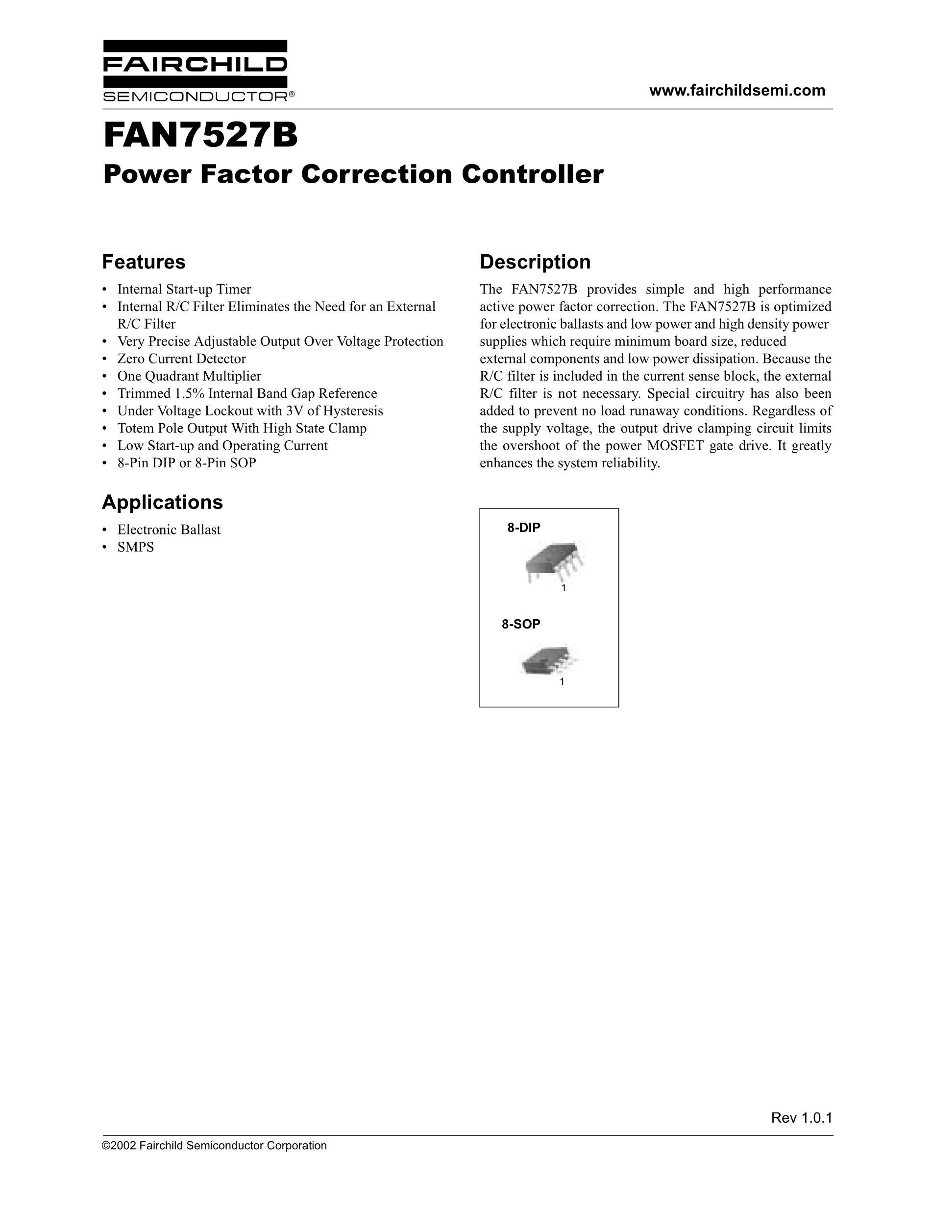 FAN7527BM's pdf picture 1