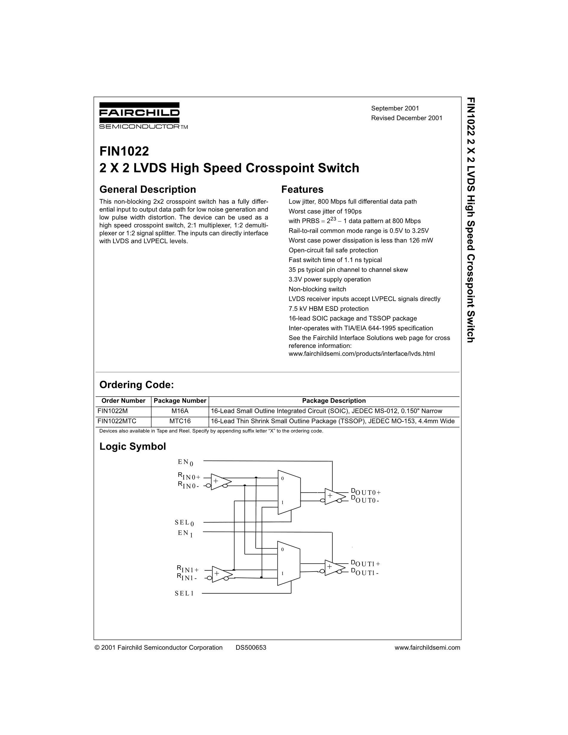 FIN1216MTD's pdf picture 1