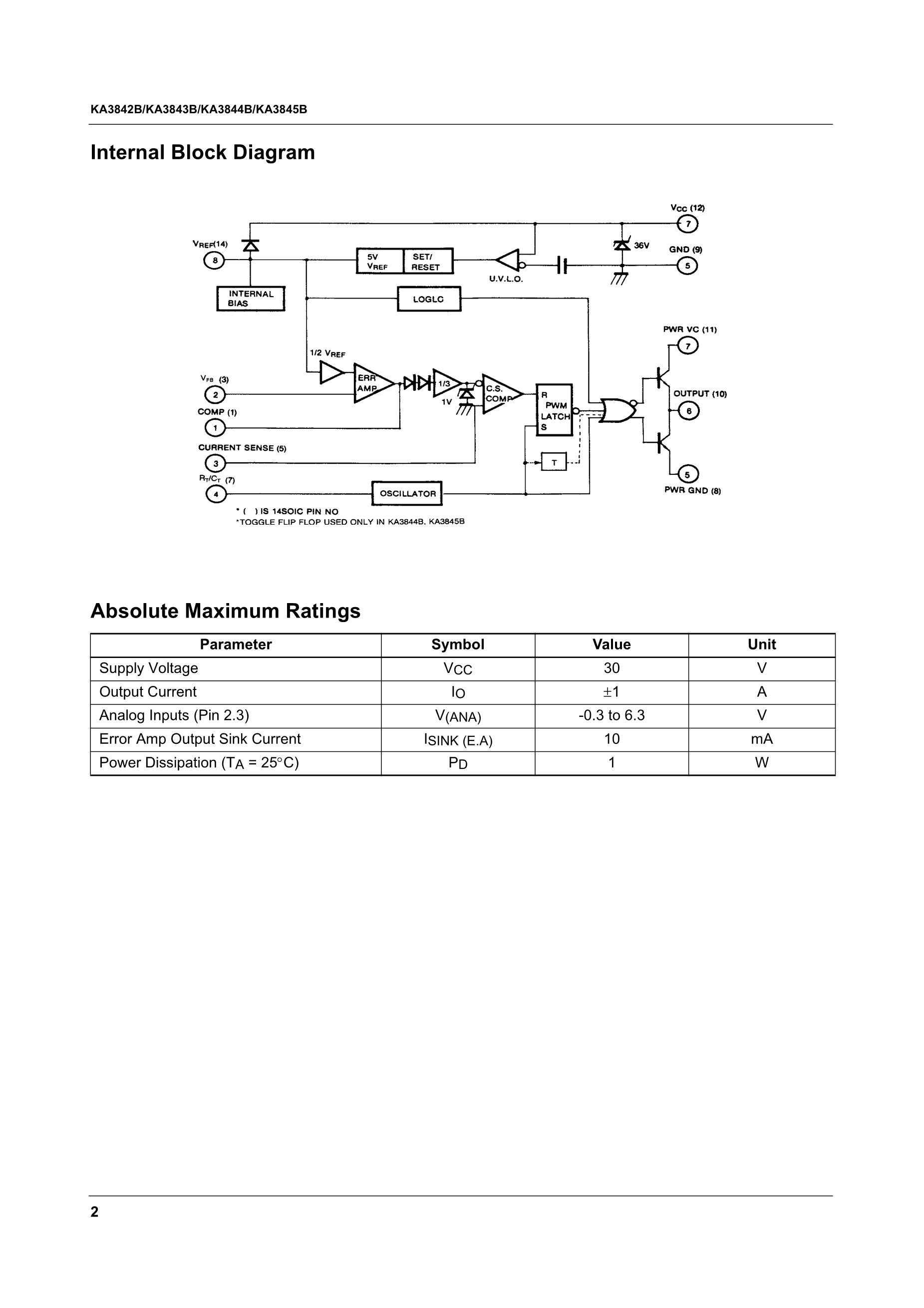 KA3842ACS's pdf picture 2