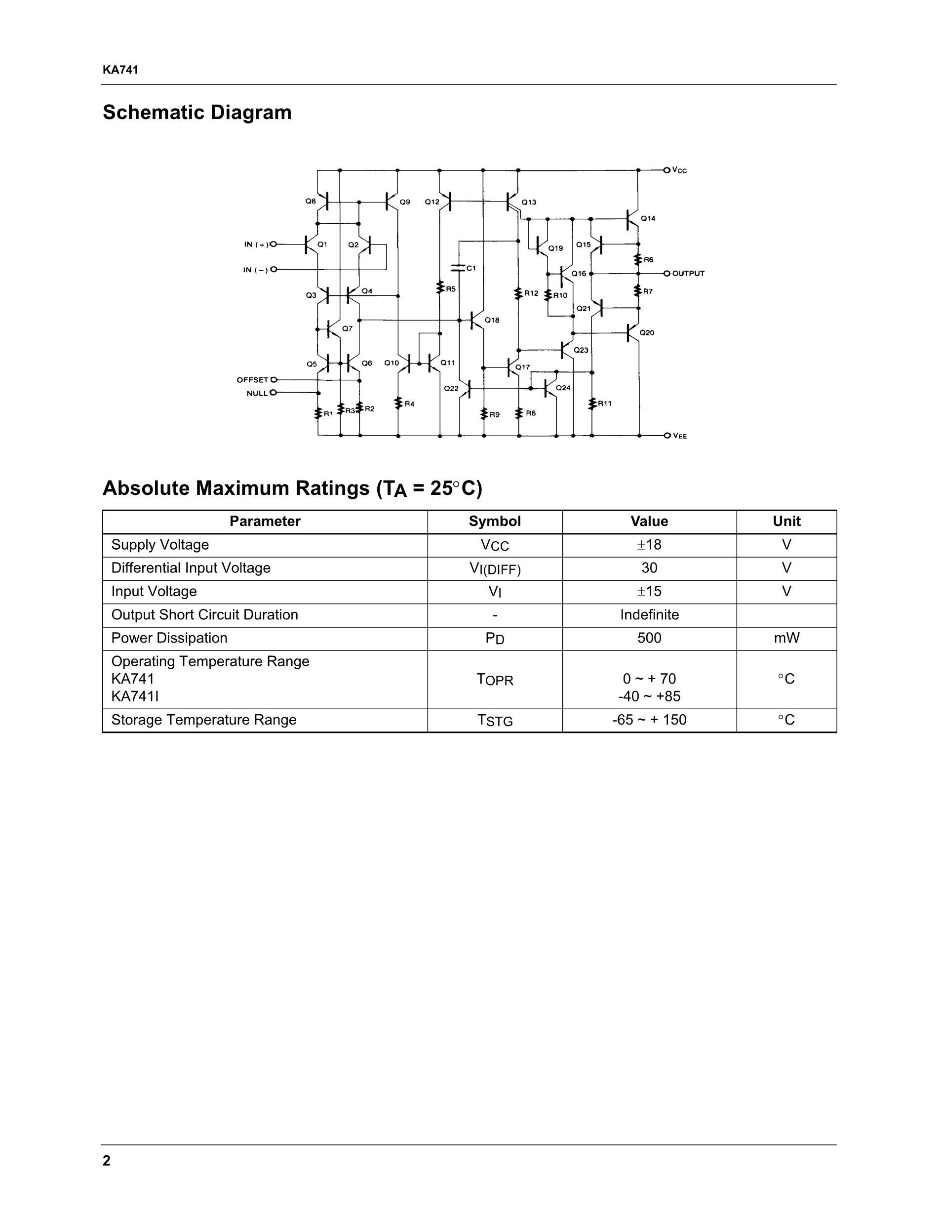 KA7405D's pdf picture 2