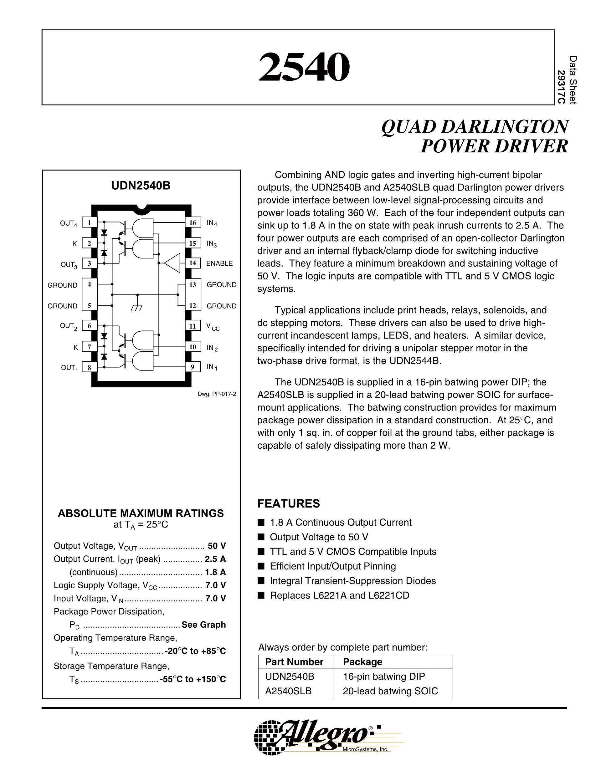 UDN2559B's pdf picture 1