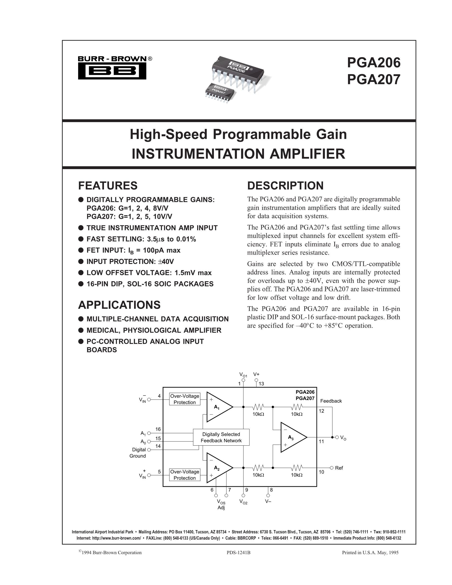 PGA2500IDB's pdf picture 1