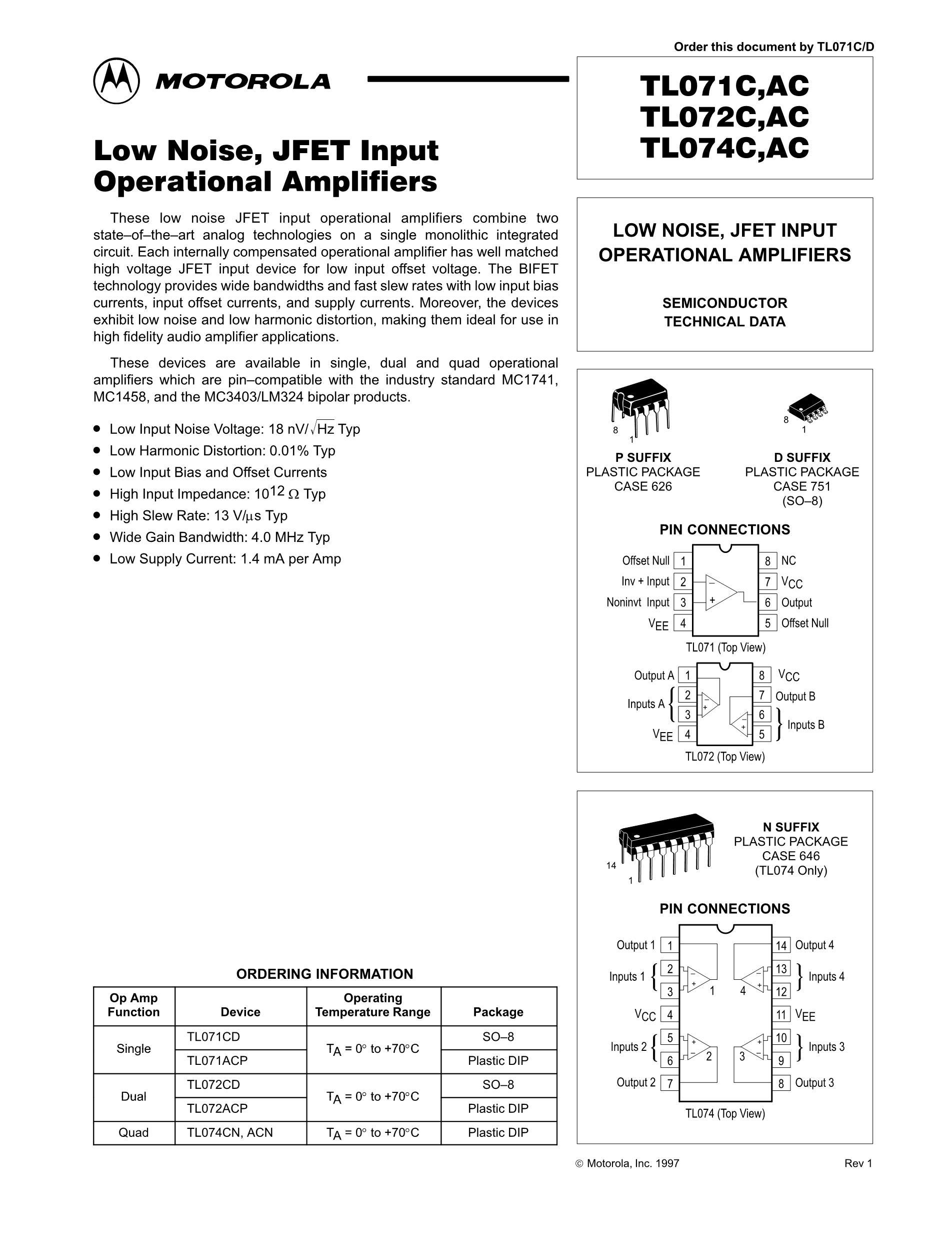 TL074CDT's pdf picture 1