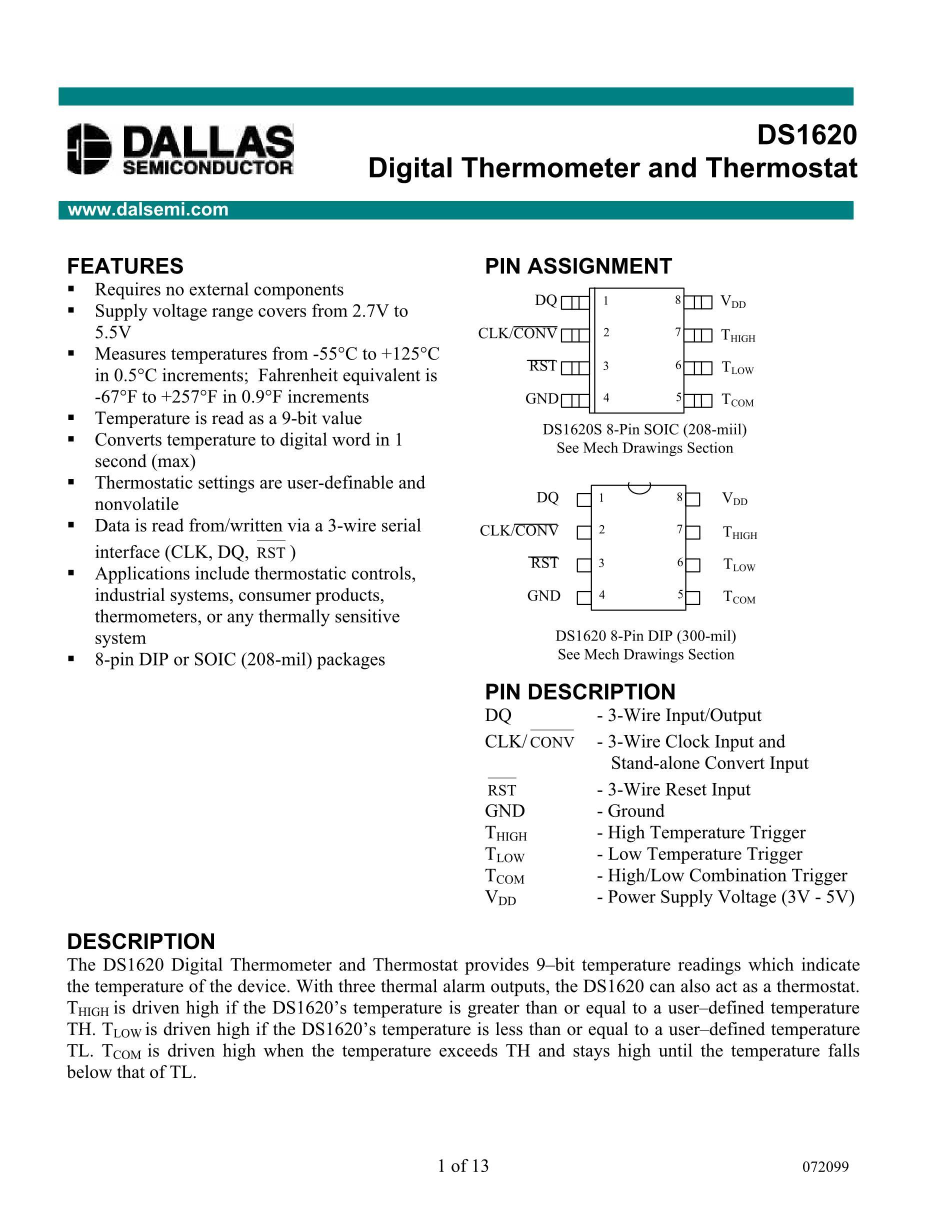 DS1685E-3+'s pdf picture 1