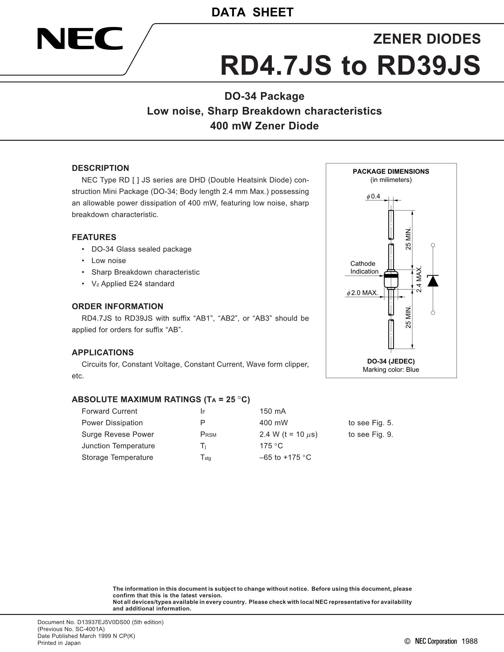 RD11UM/11V's pdf picture 1