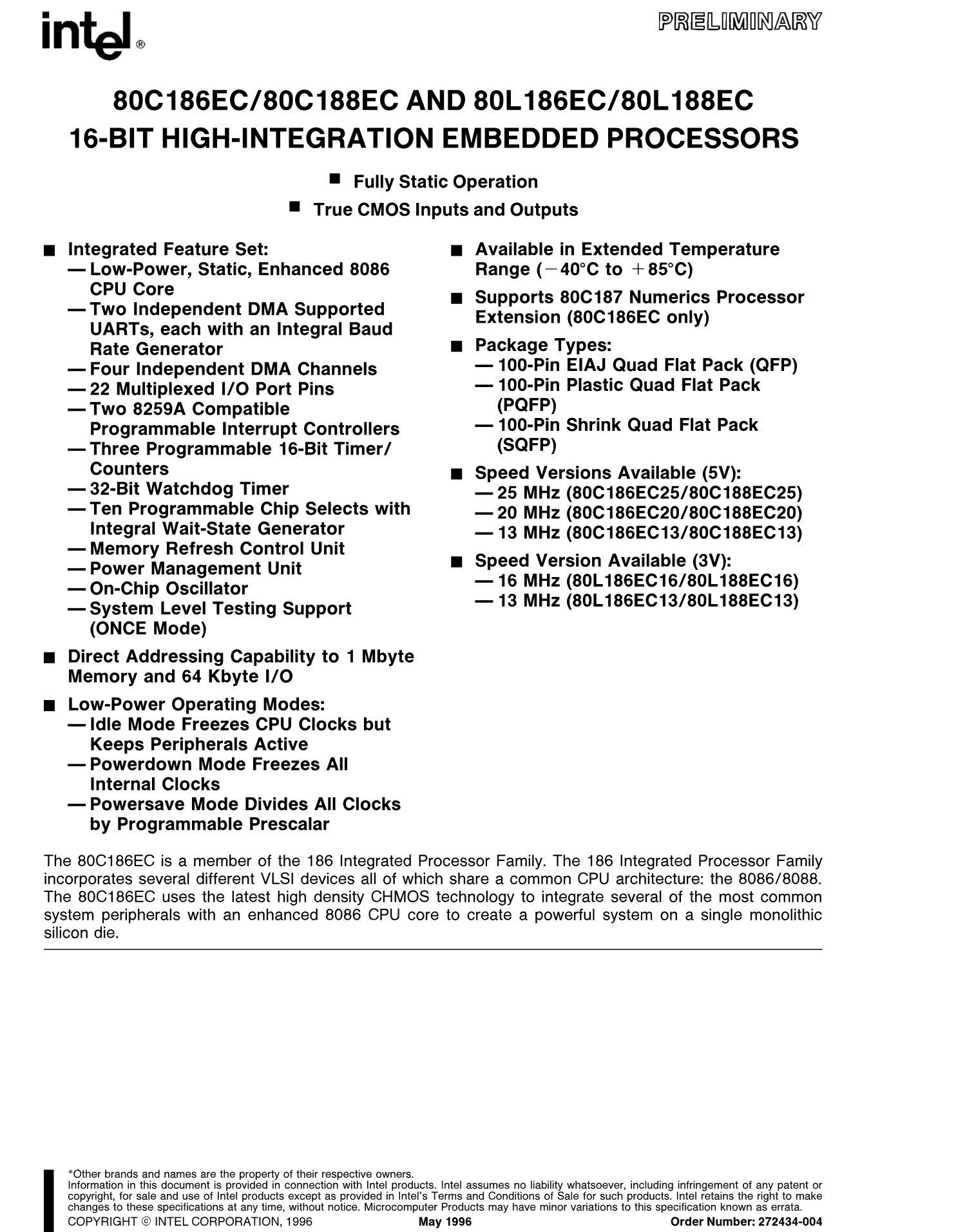 KU80386EX25's pdf picture 1