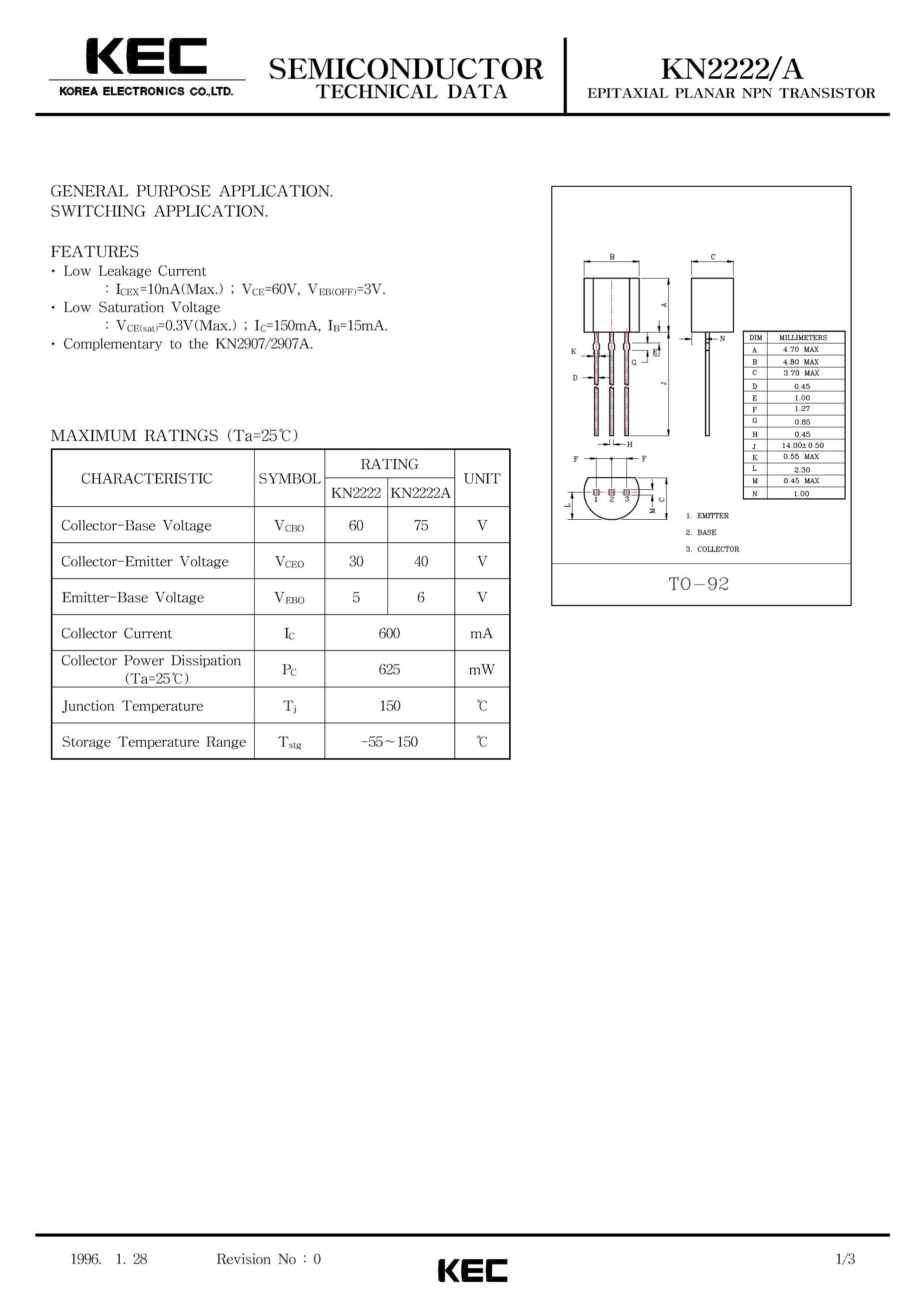 KN2222A's pdf picture 1