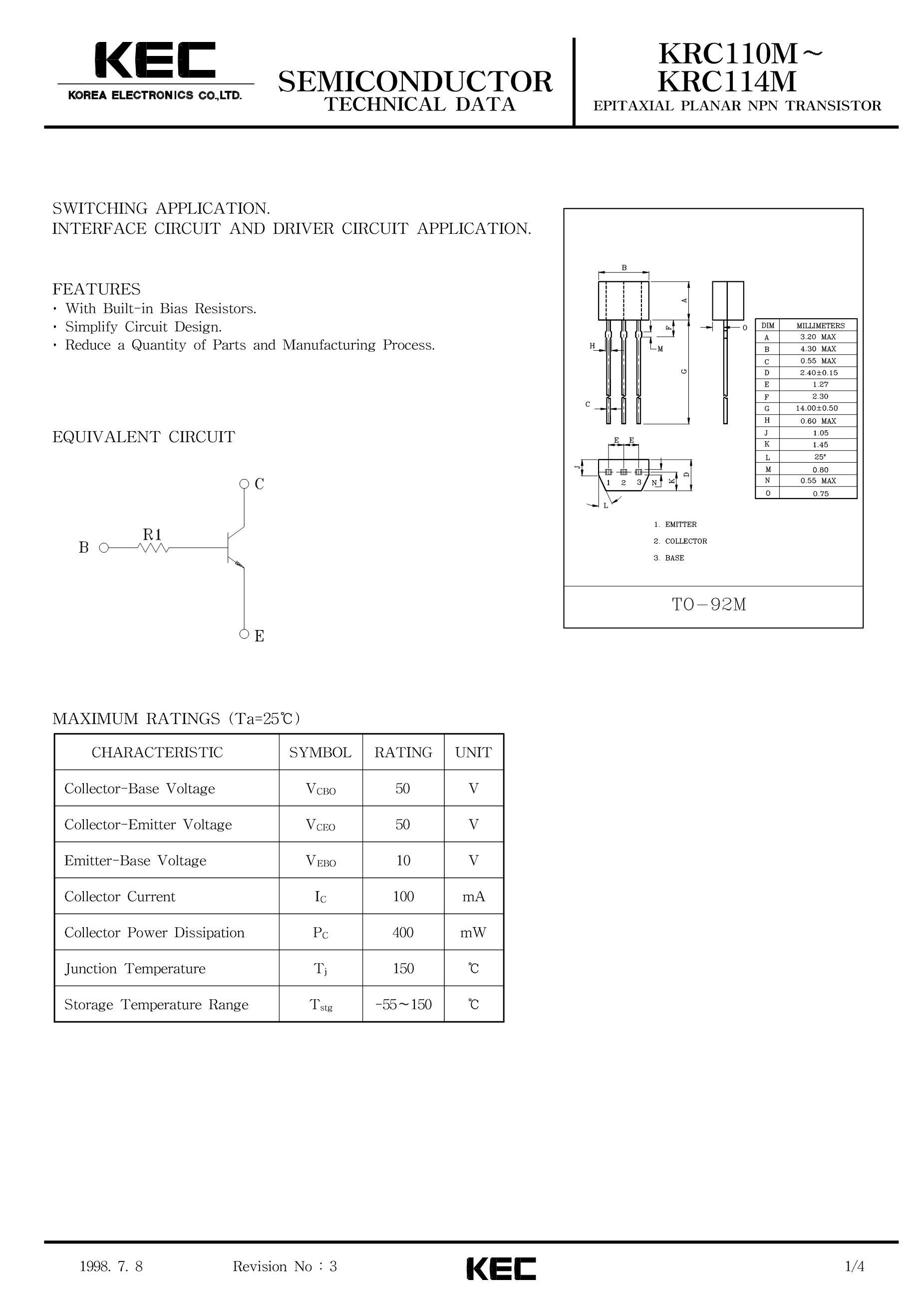 KRC110S's pdf picture 1