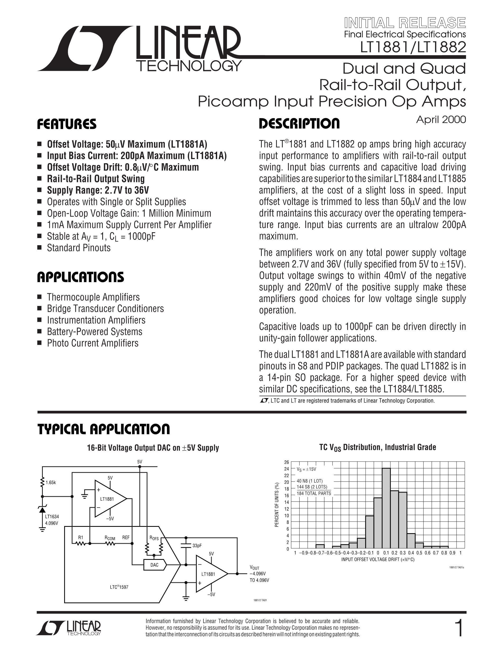 LT1815CS8's pdf picture 1