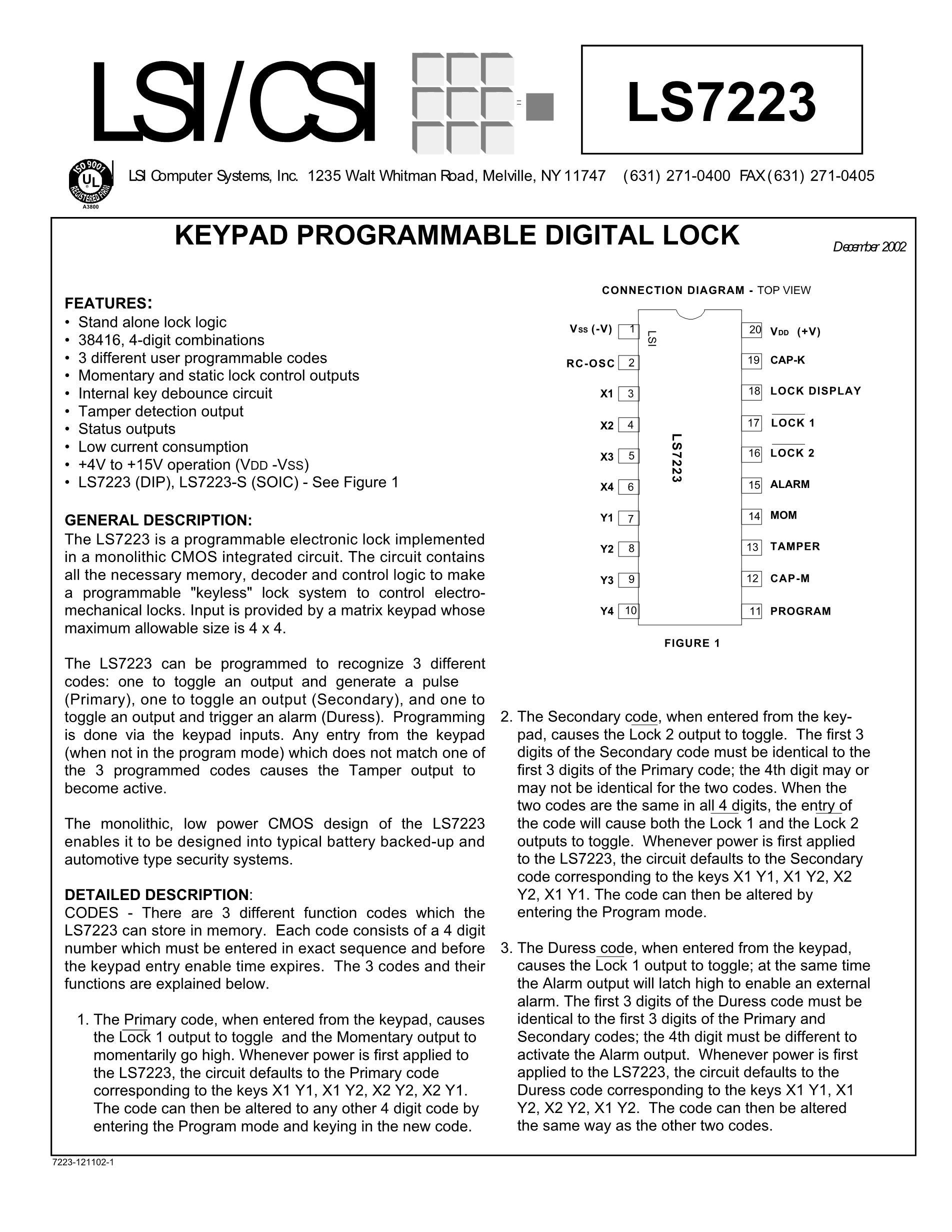 72231L25PF's pdf picture 1