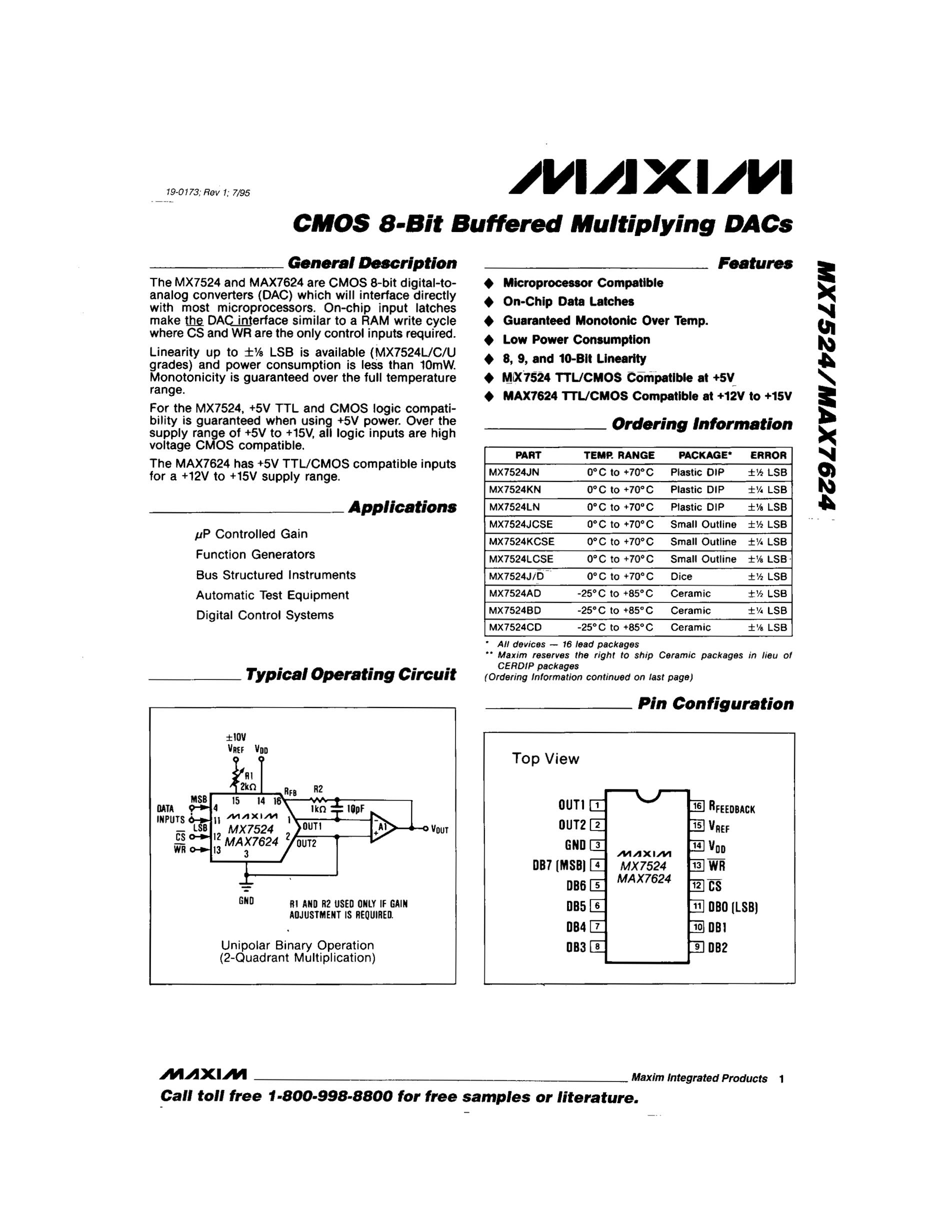 MX7548AKS's pdf picture 1