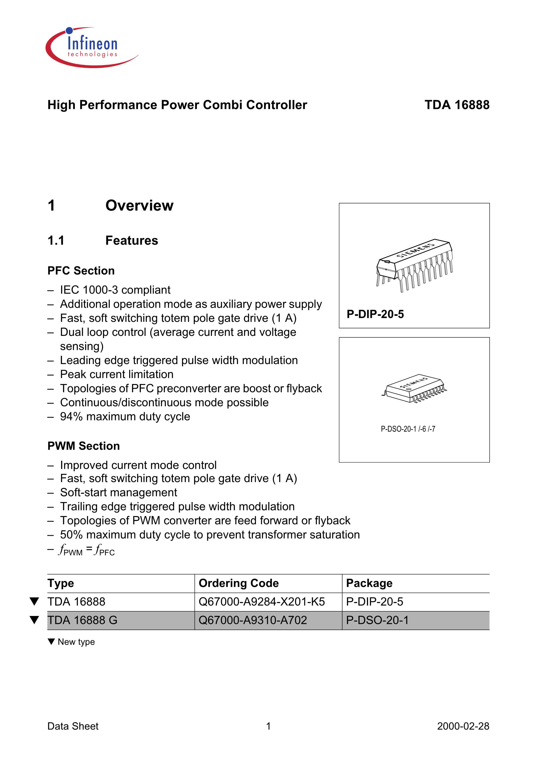 TDA16888G's pdf picture 1
