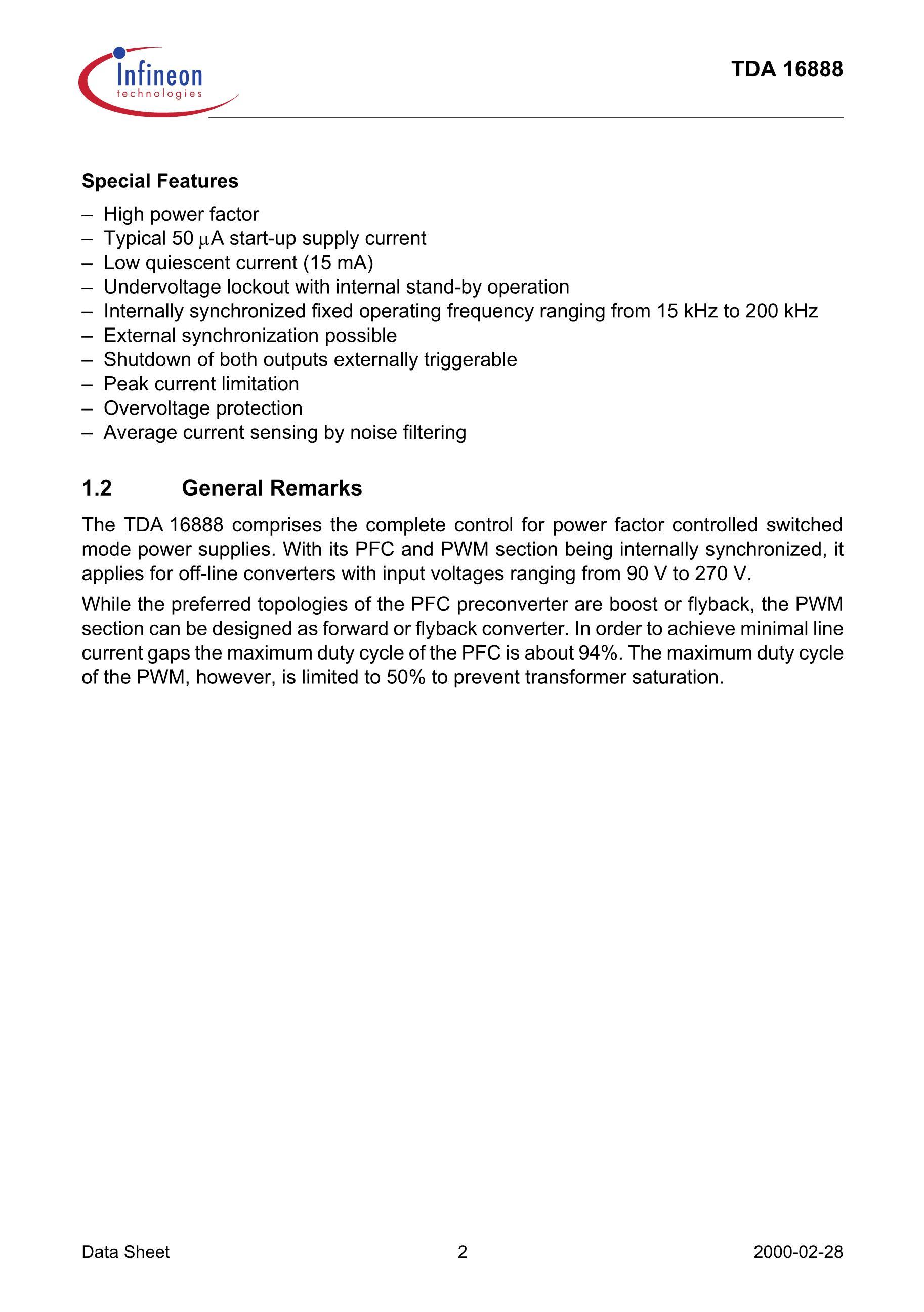 TDA16888G's pdf picture 2
