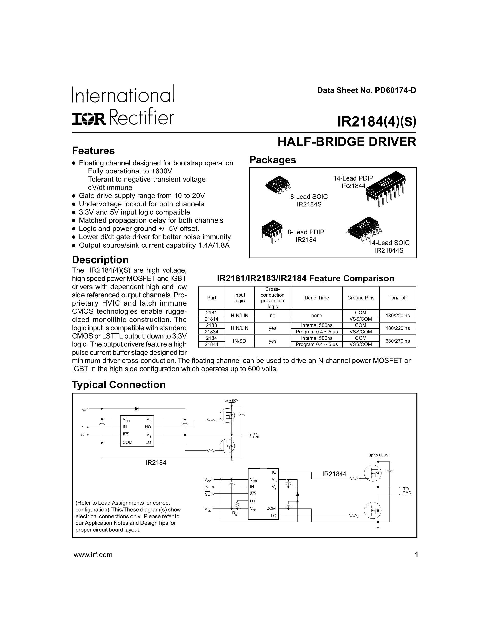 IR2184's pdf picture 1