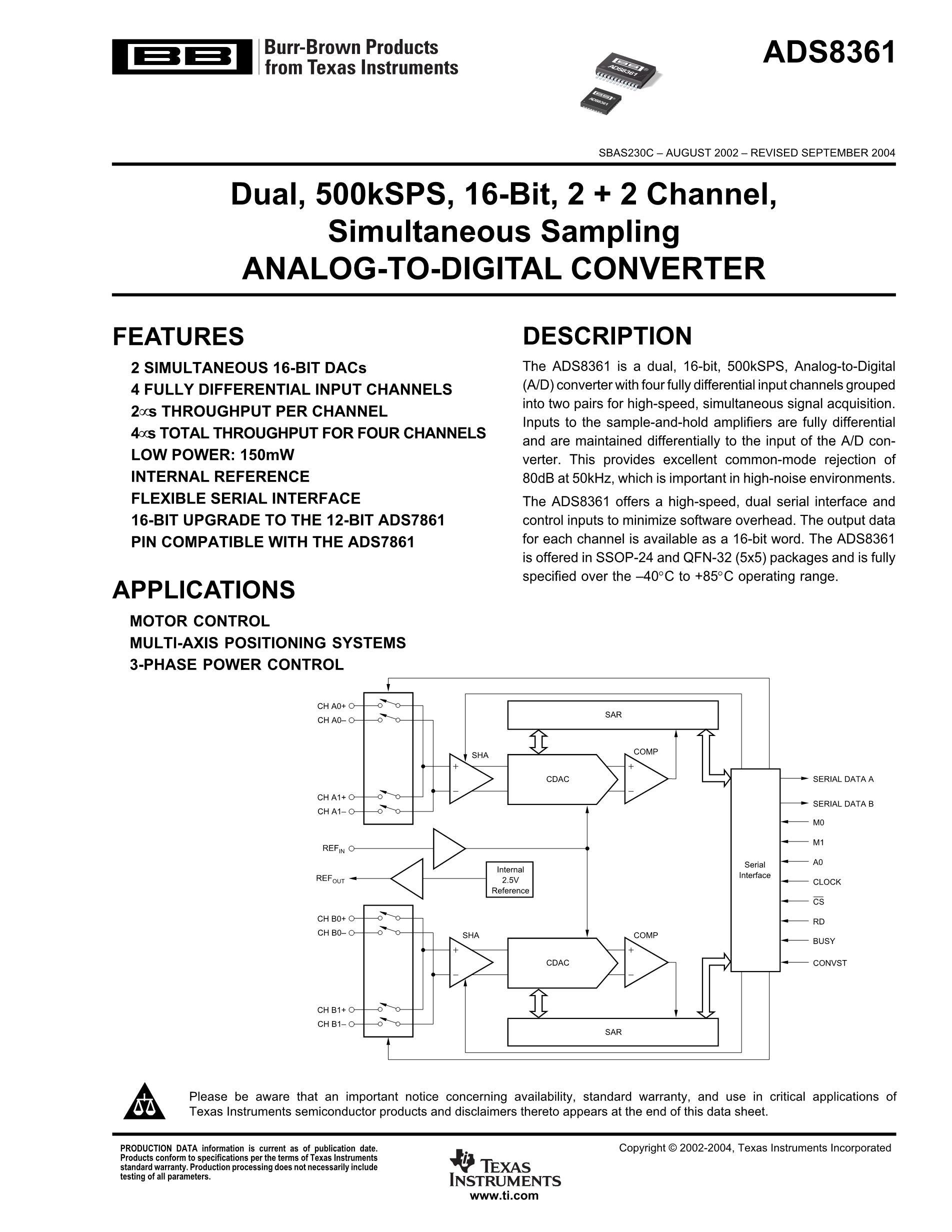 ADS820U/1KG4's pdf picture 1