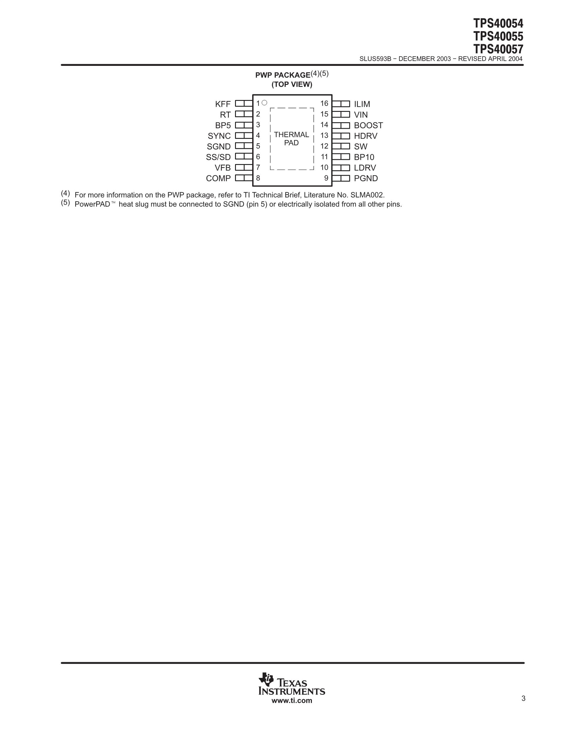 TPS40009DGQ's pdf picture 3