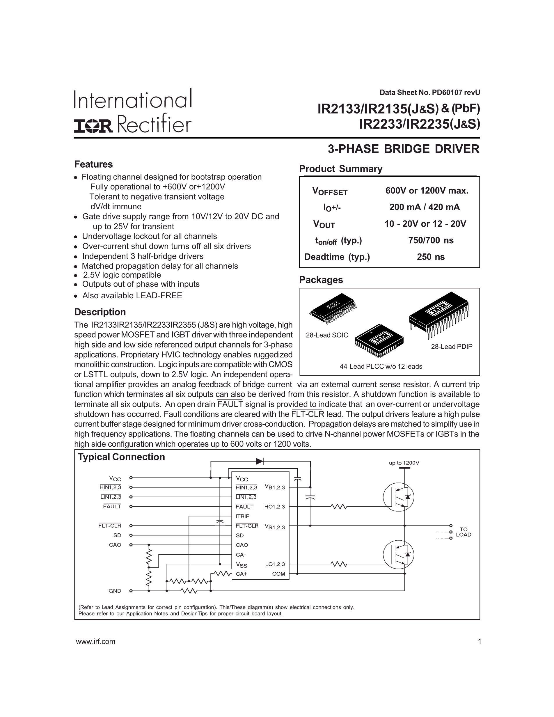 IR2210S's pdf picture 1