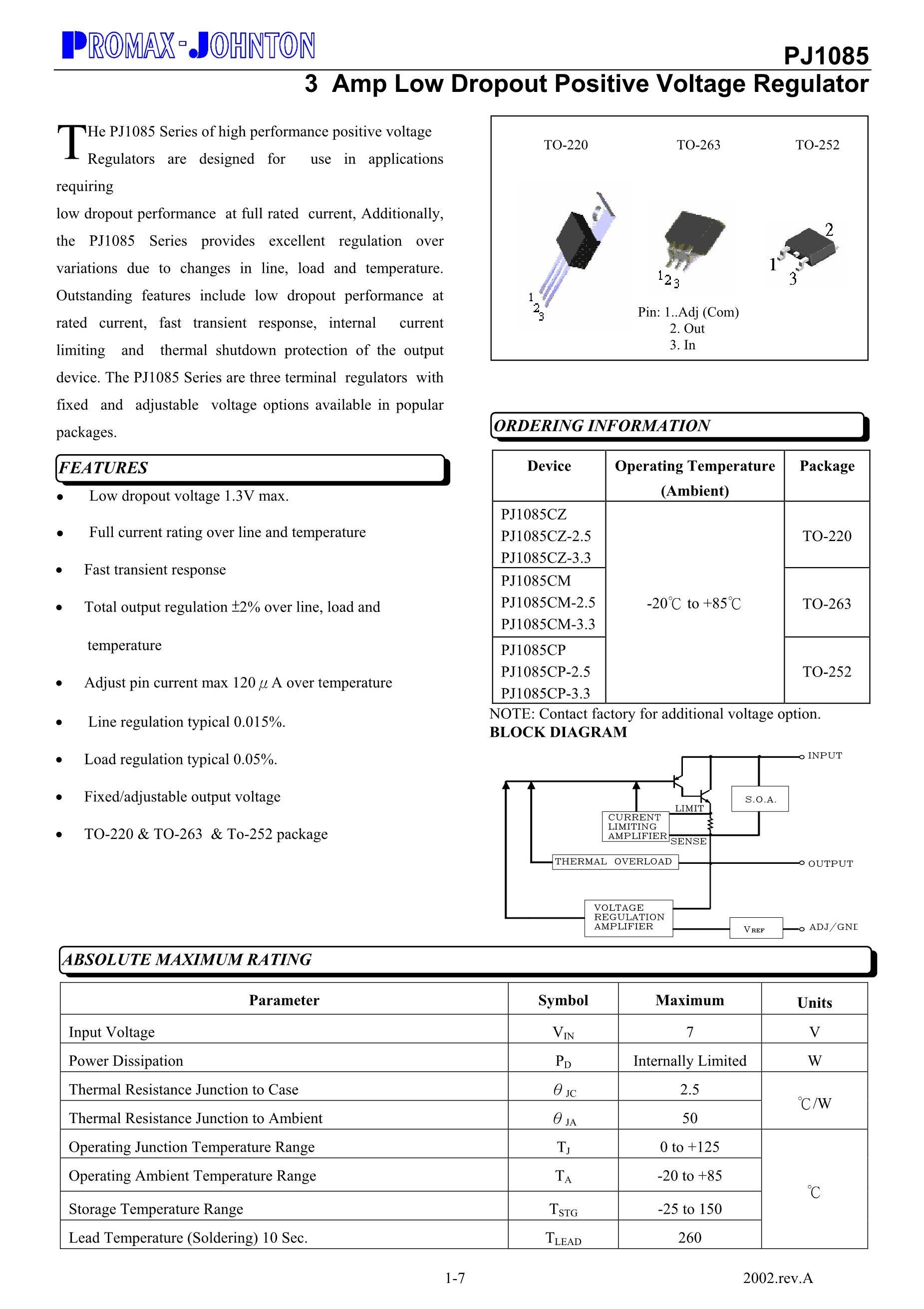 PJ1083CZ's pdf picture 1
