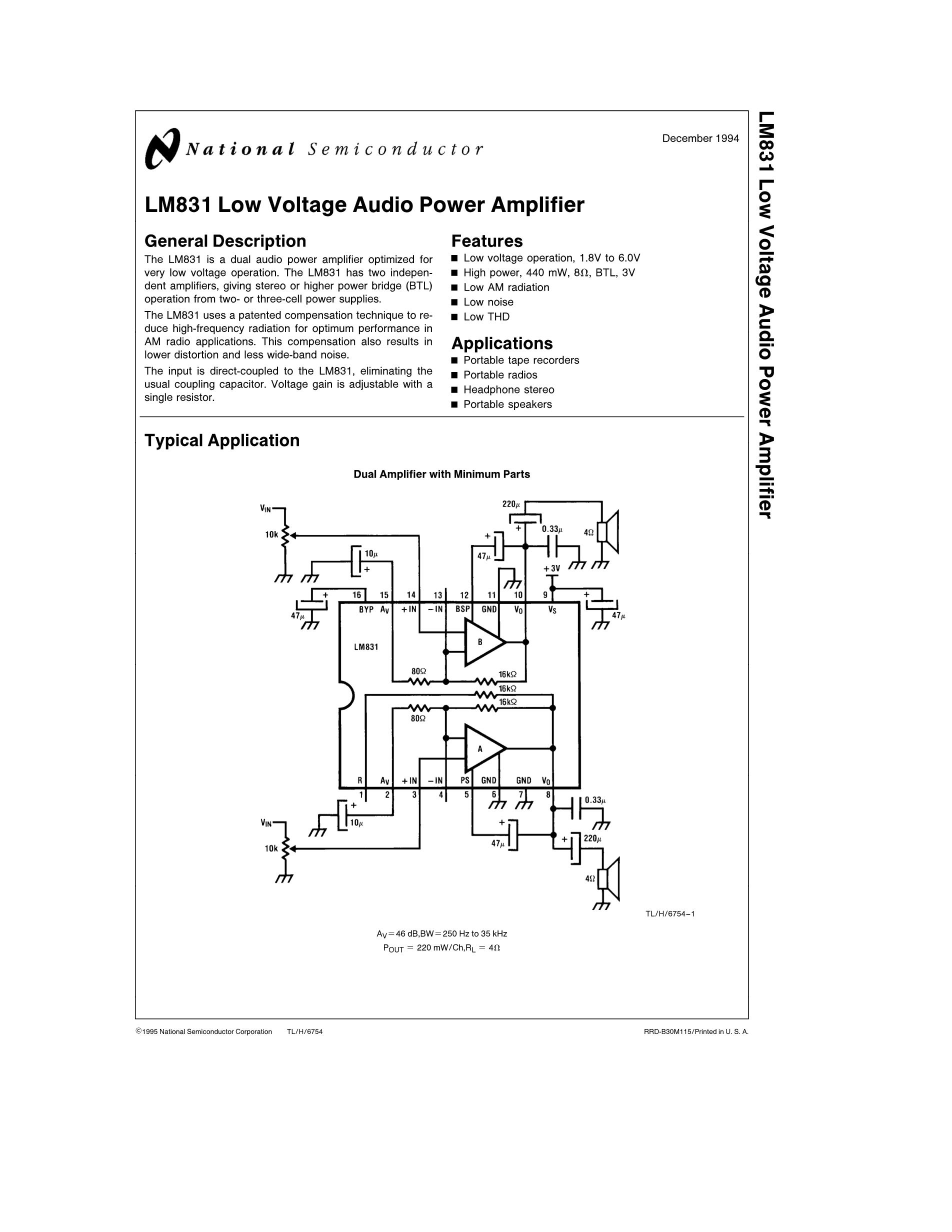 LM8300IMT9B's pdf picture 1