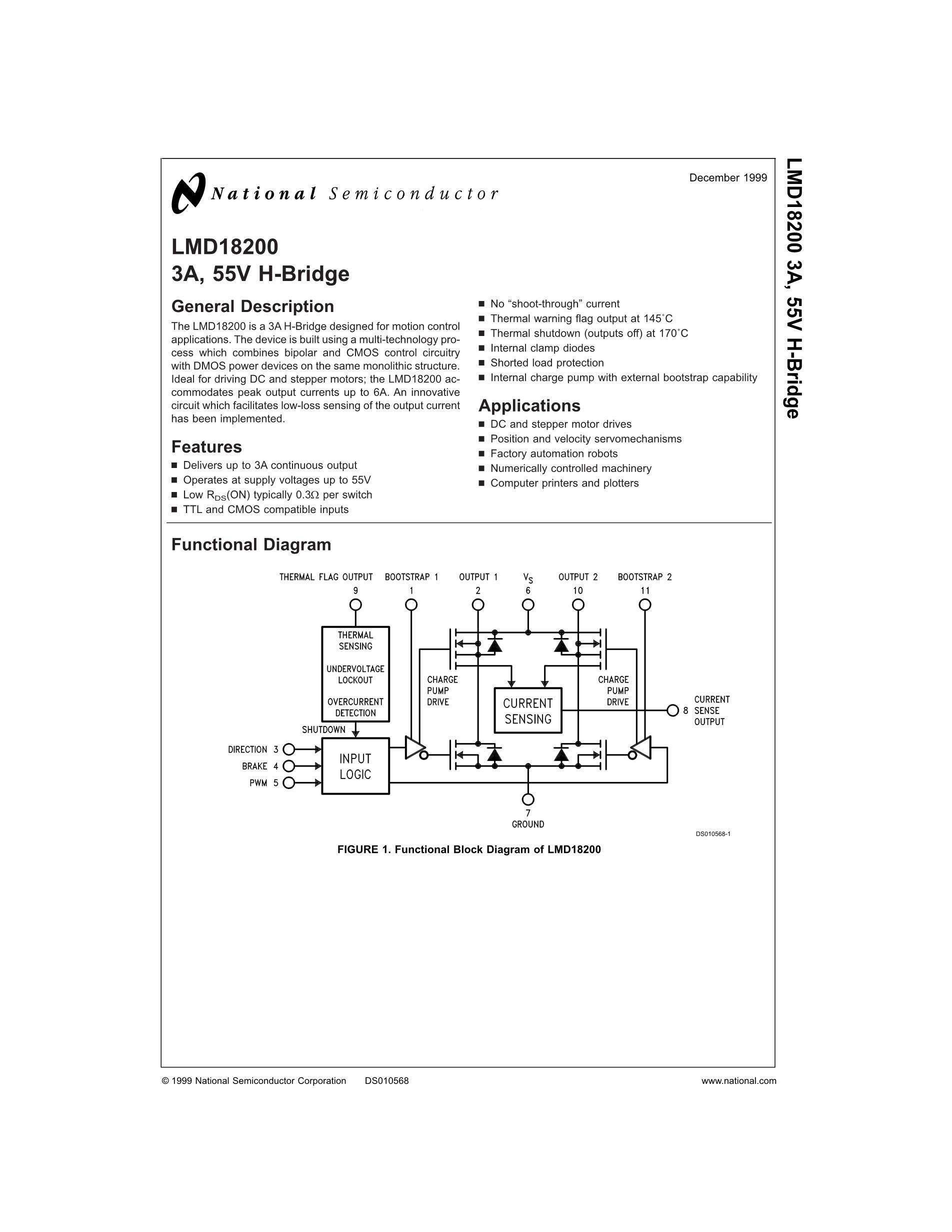 LMD18400N's pdf picture 1