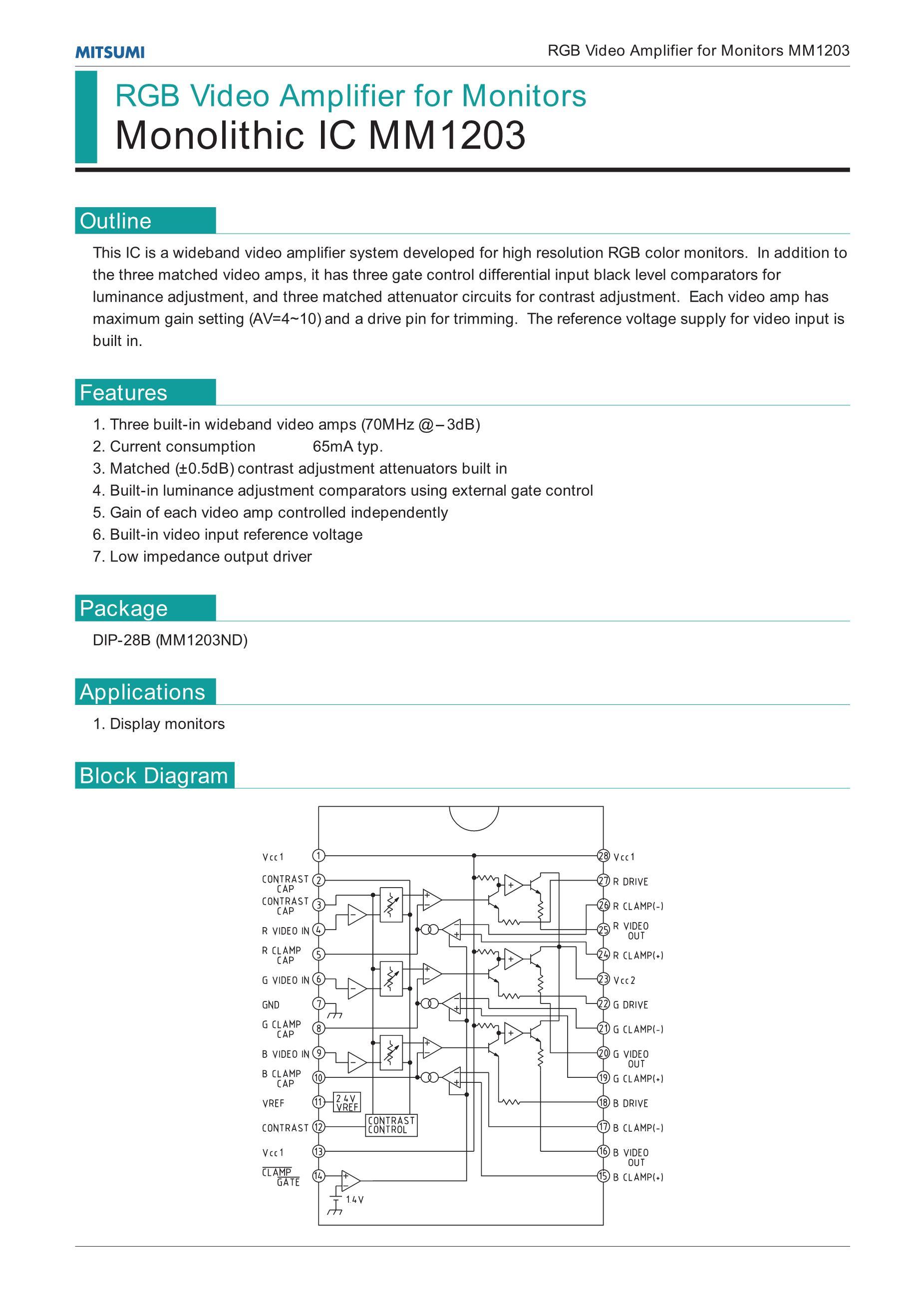 MM1270ZMR/0Z's pdf picture 1