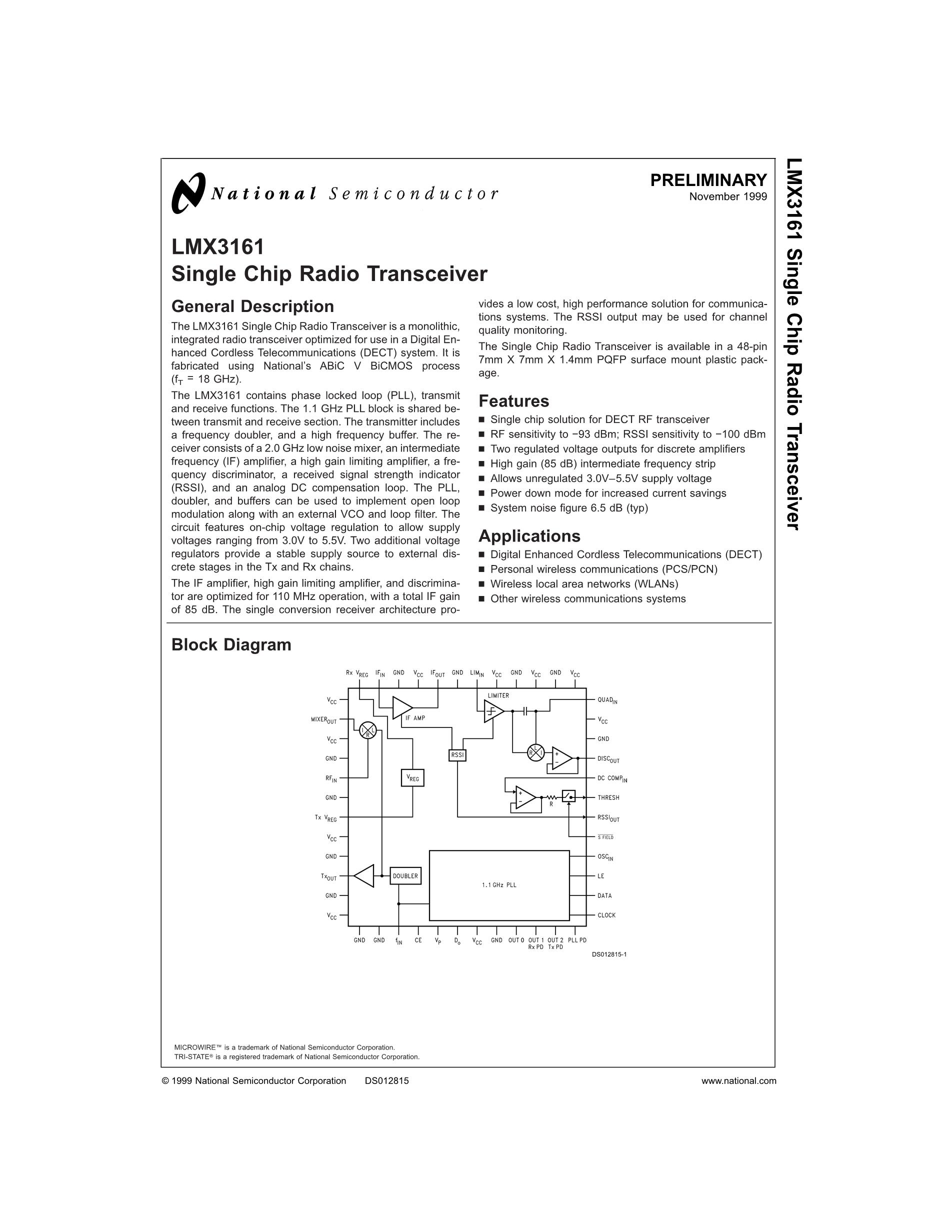 LMX3268's pdf picture 1