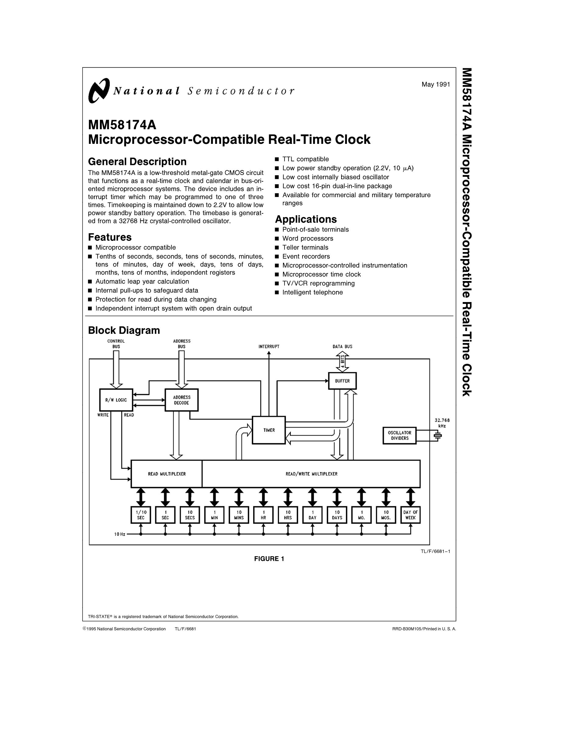 MM58167N's pdf picture 1
