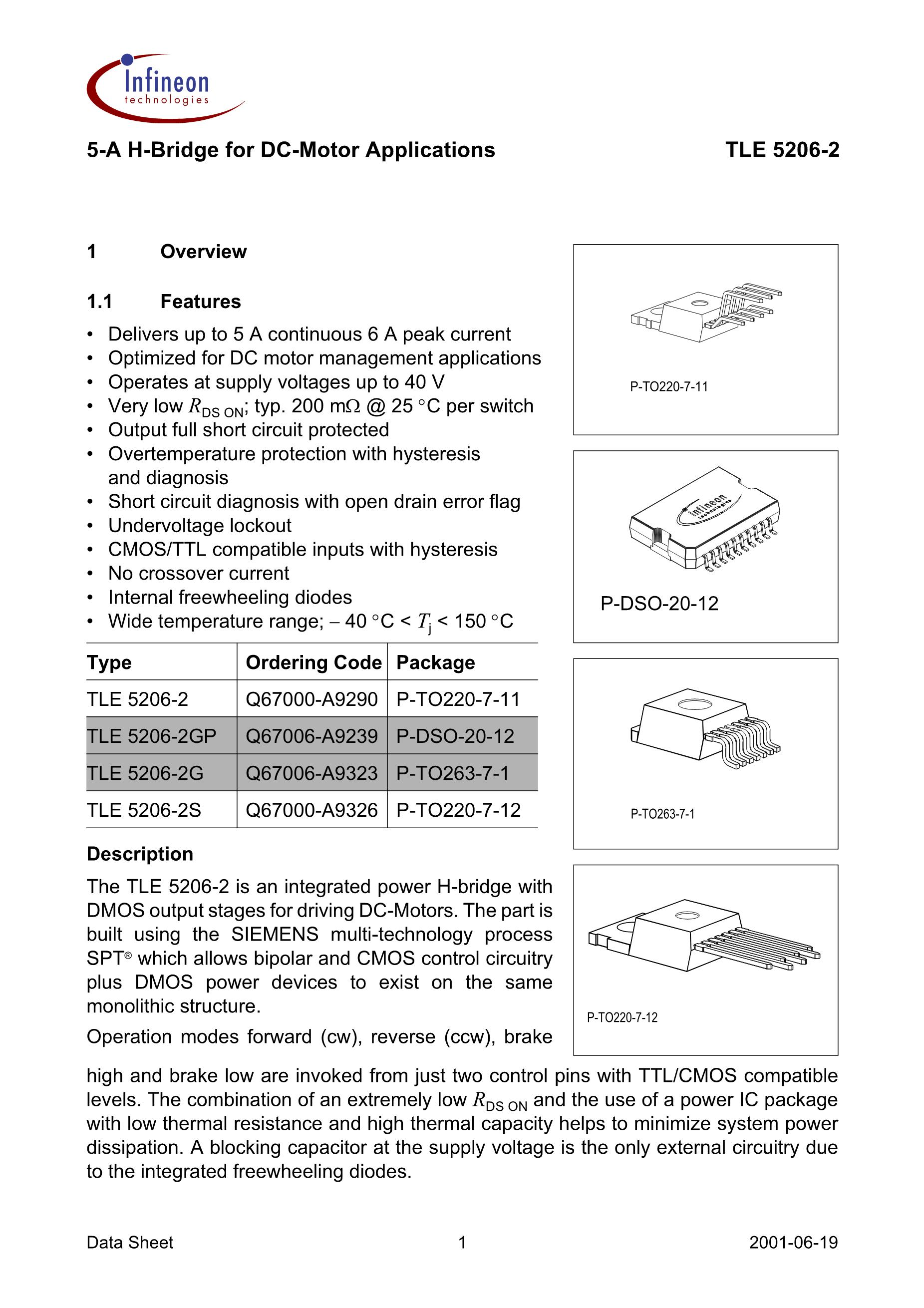 TLE5206-2GP's pdf picture 1