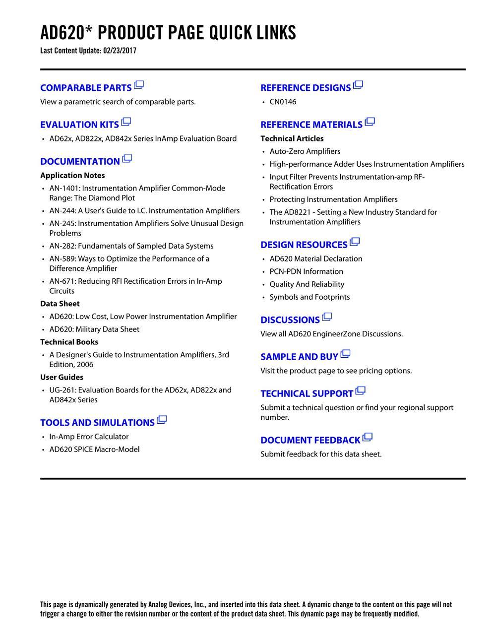AD620BRZ's pdf picture 2