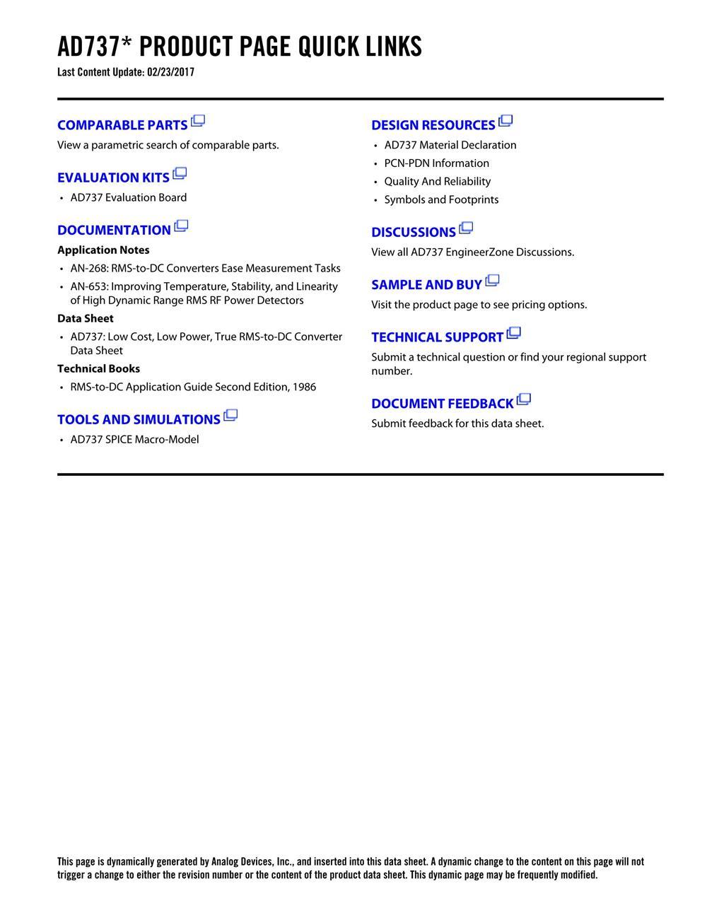 AD737KRZ-R7's pdf picture 2