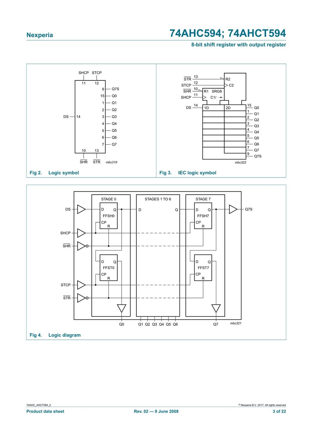 74AHC594DB,112's pdf picture 3