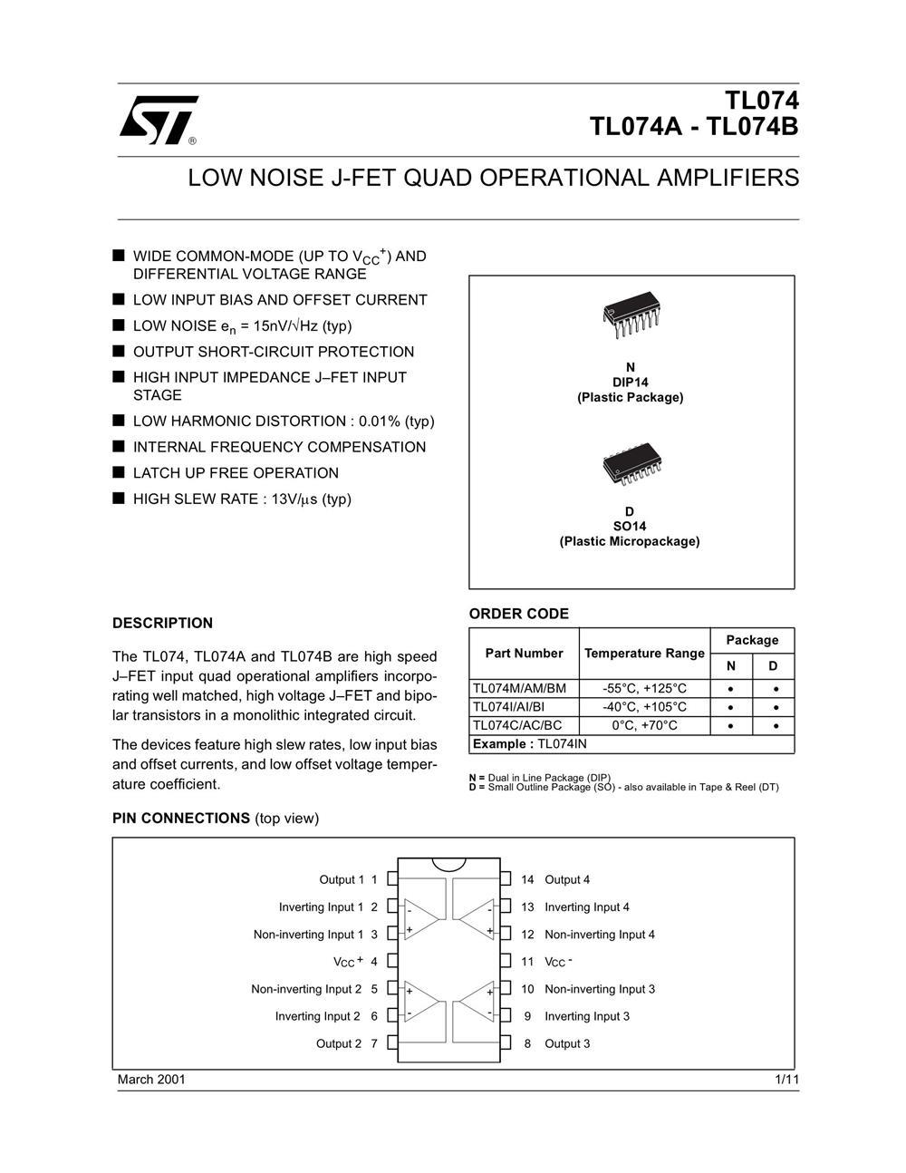 TL074CN's pdf picture 1