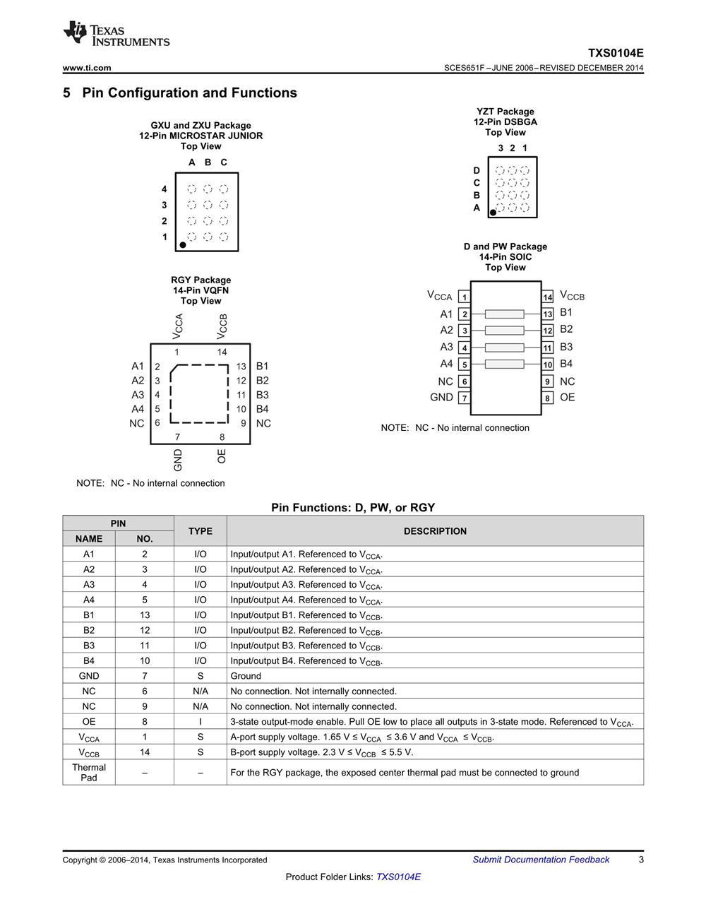 TXS0104EYZTR's pdf picture 3