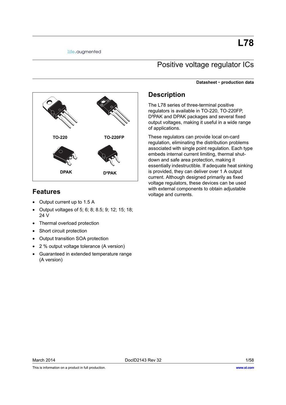 L7805CV-DG's pdf picture 1