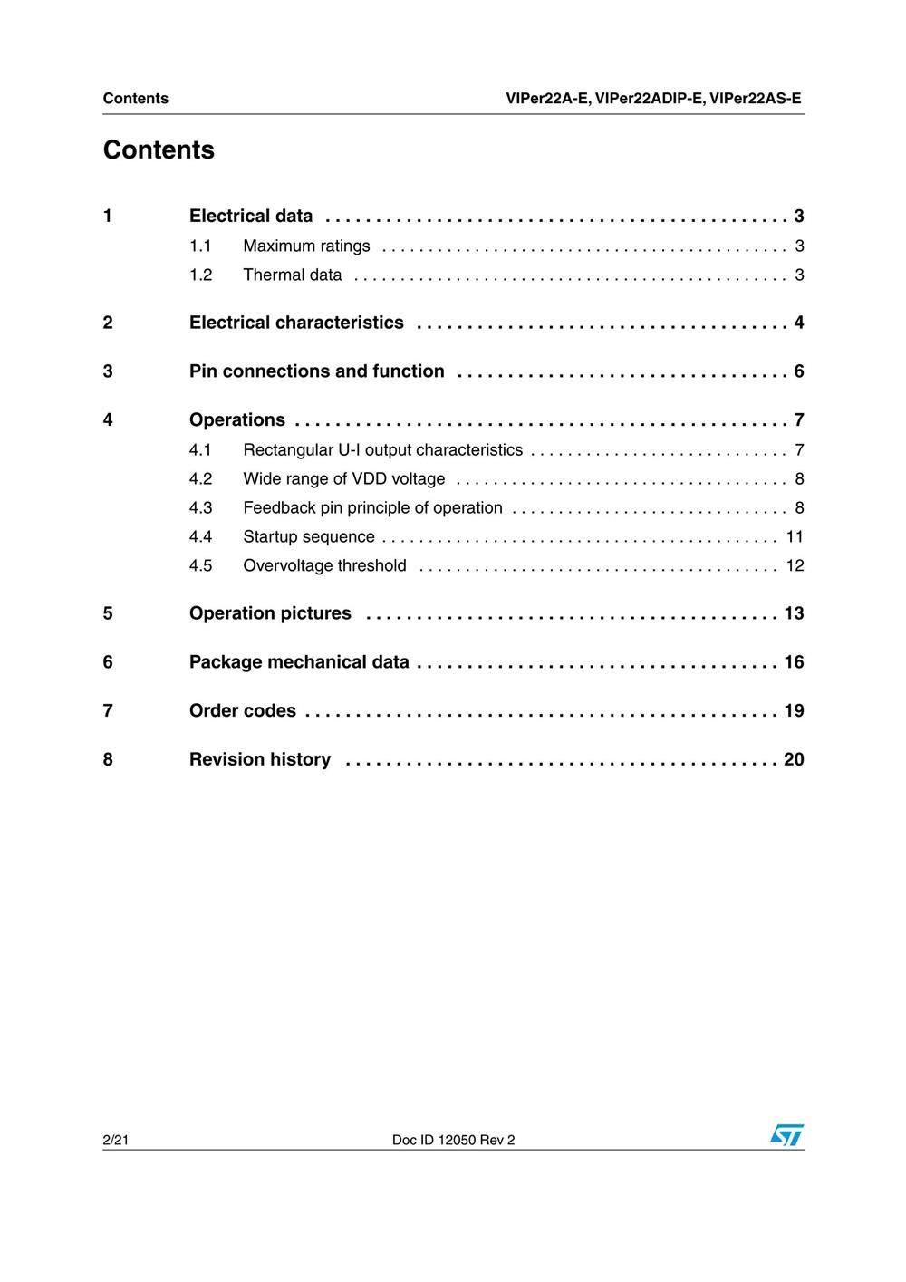 VIPER22ADIP-E's pdf picture 2