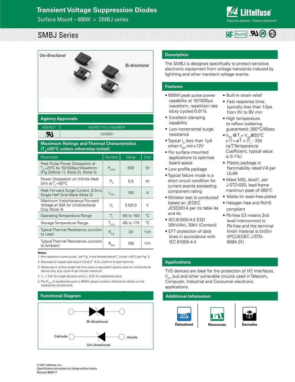 SMBJ28A's pdf picture 1
