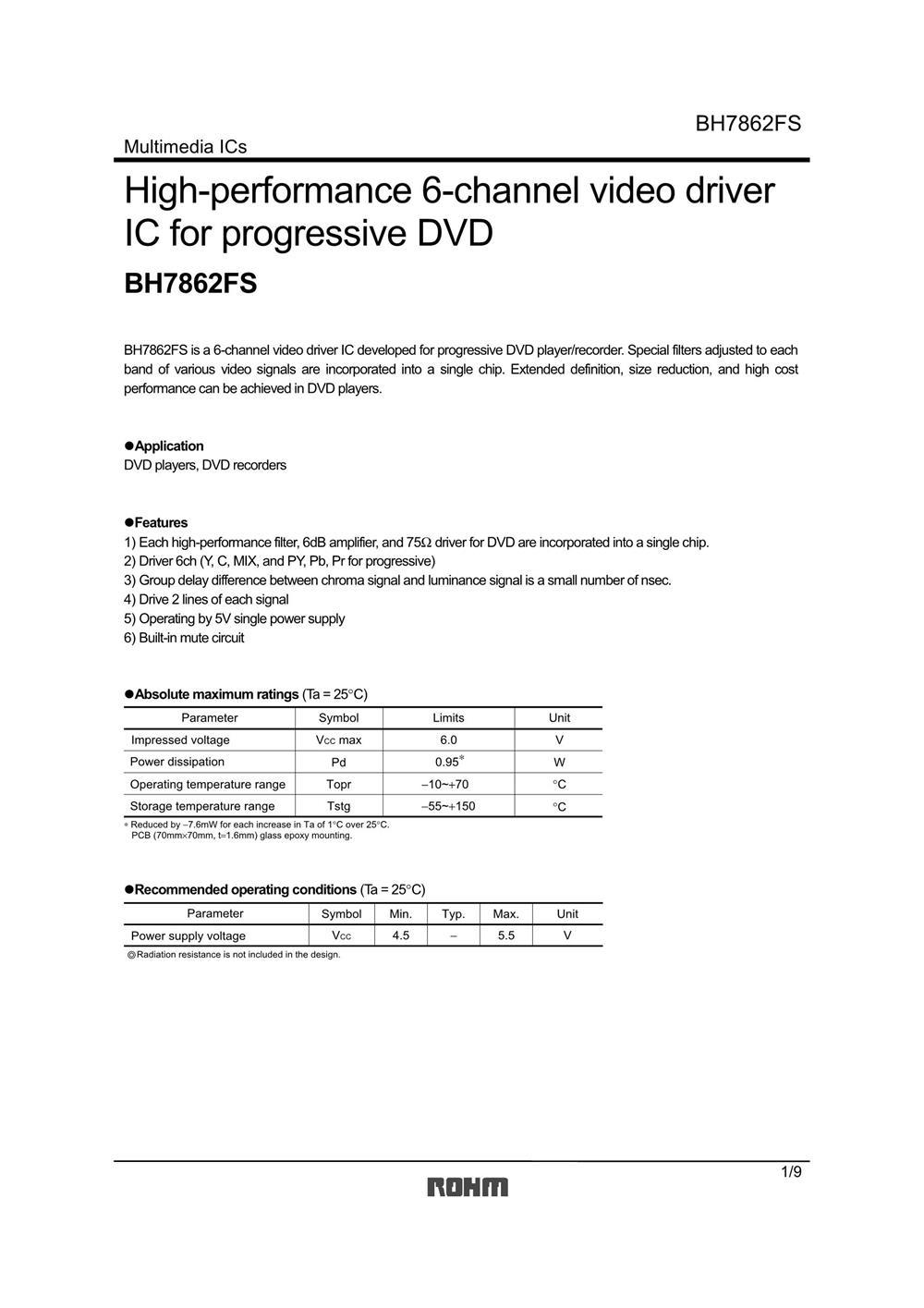 BH7862FS's pdf picture 1