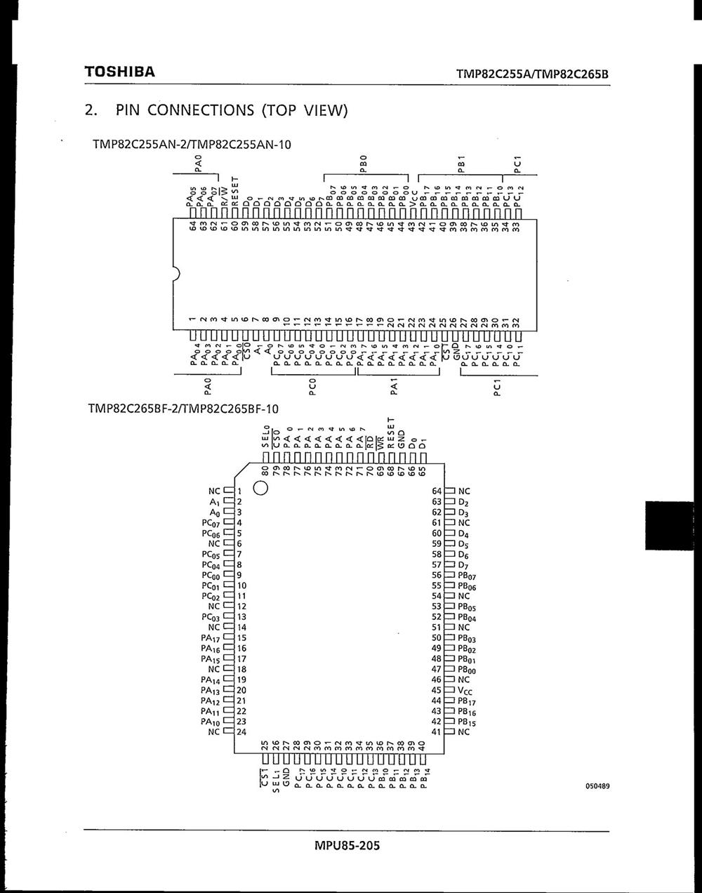 TMP82C255AN-10's pdf picture 2