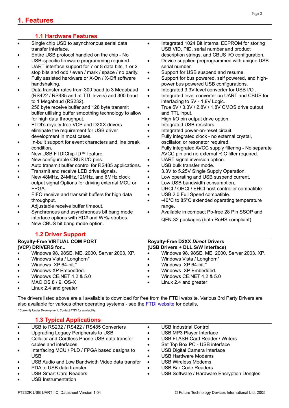 FT232RL's pdf picture 2