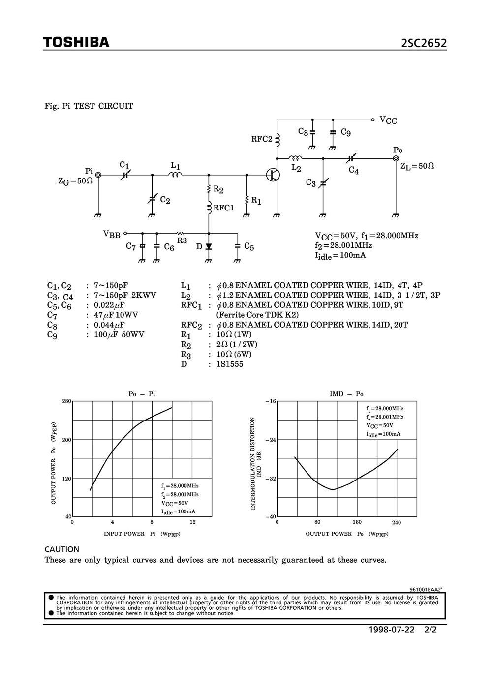 2SC2652's pdf picture 2