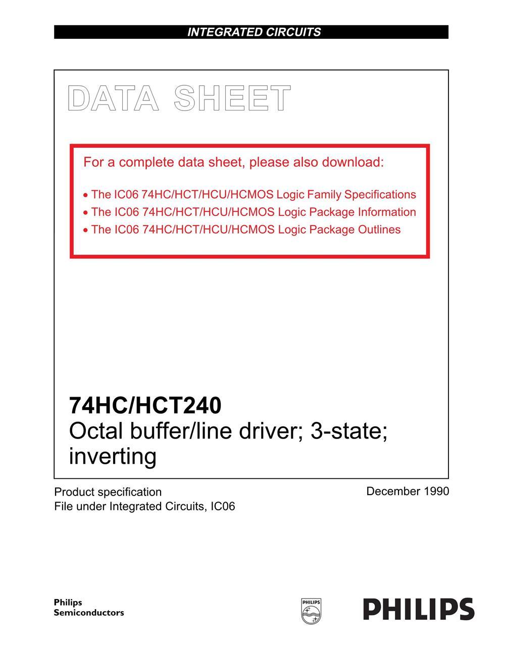 74HC240D's pdf picture 1
